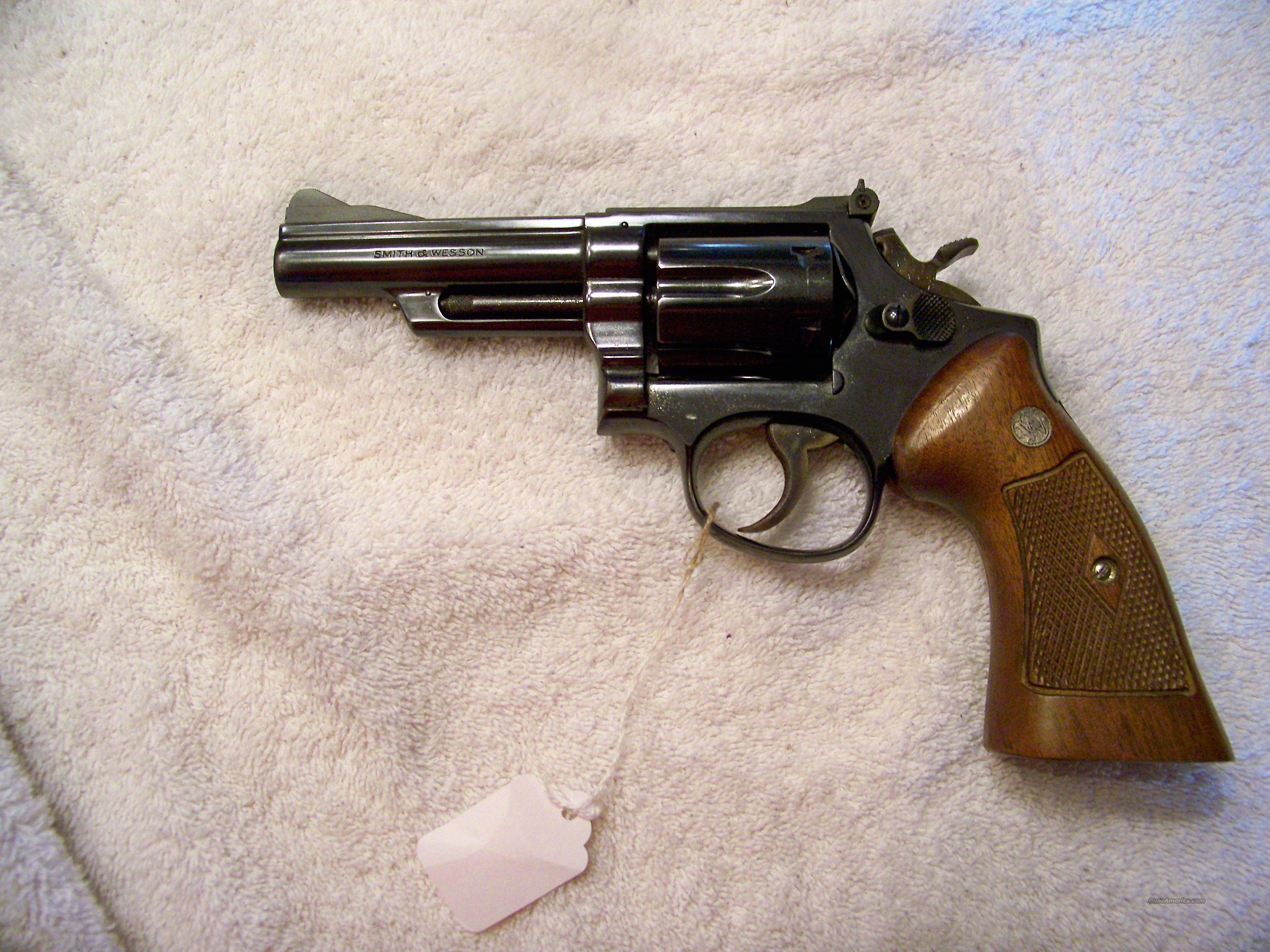 SMITH & WESSON COMBAT MAGNUM 357 MAG  Guns > Pistols > Smith & Wesson Revolvers > Full Frame Revolver