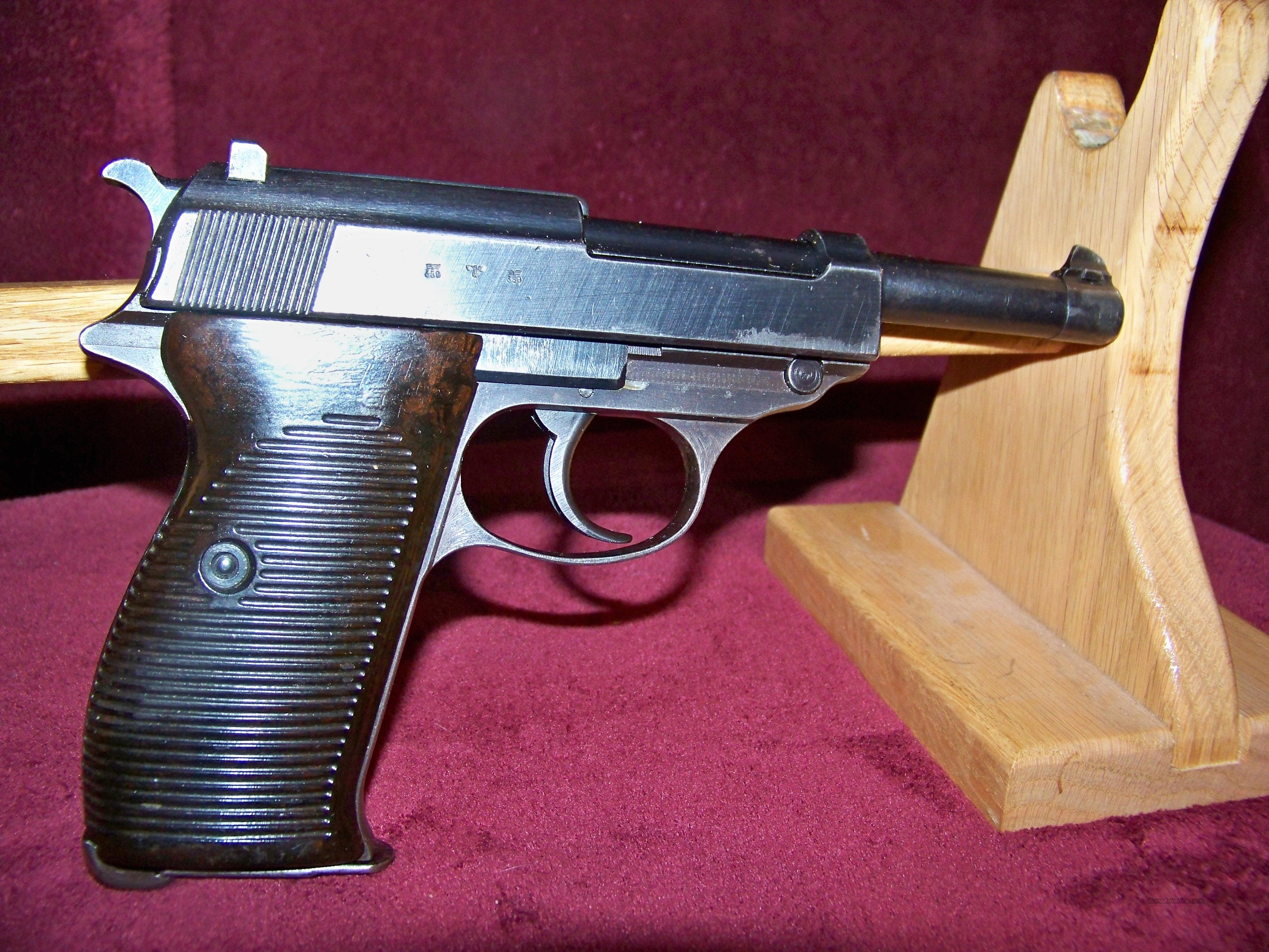 WALTHER P38  W/HOLSTER  Guns > Pistols > Military Misc. Pistols Non-US