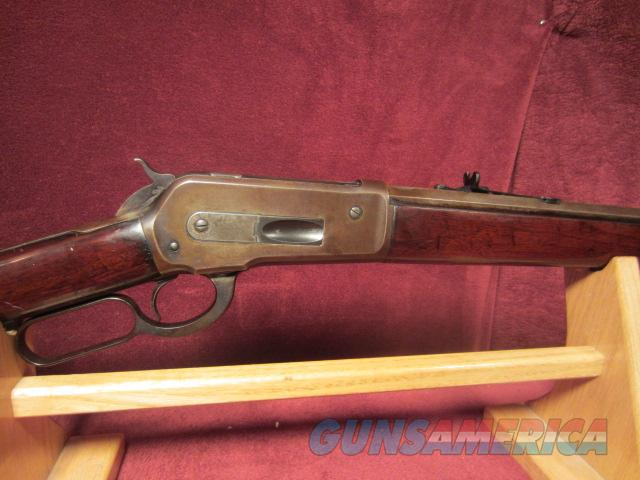 WINCHESTER MODEL 1886 FIRST YEAR OF MFG  Guns > Rifles > Winchester Rifles - Pre-1899 Lever