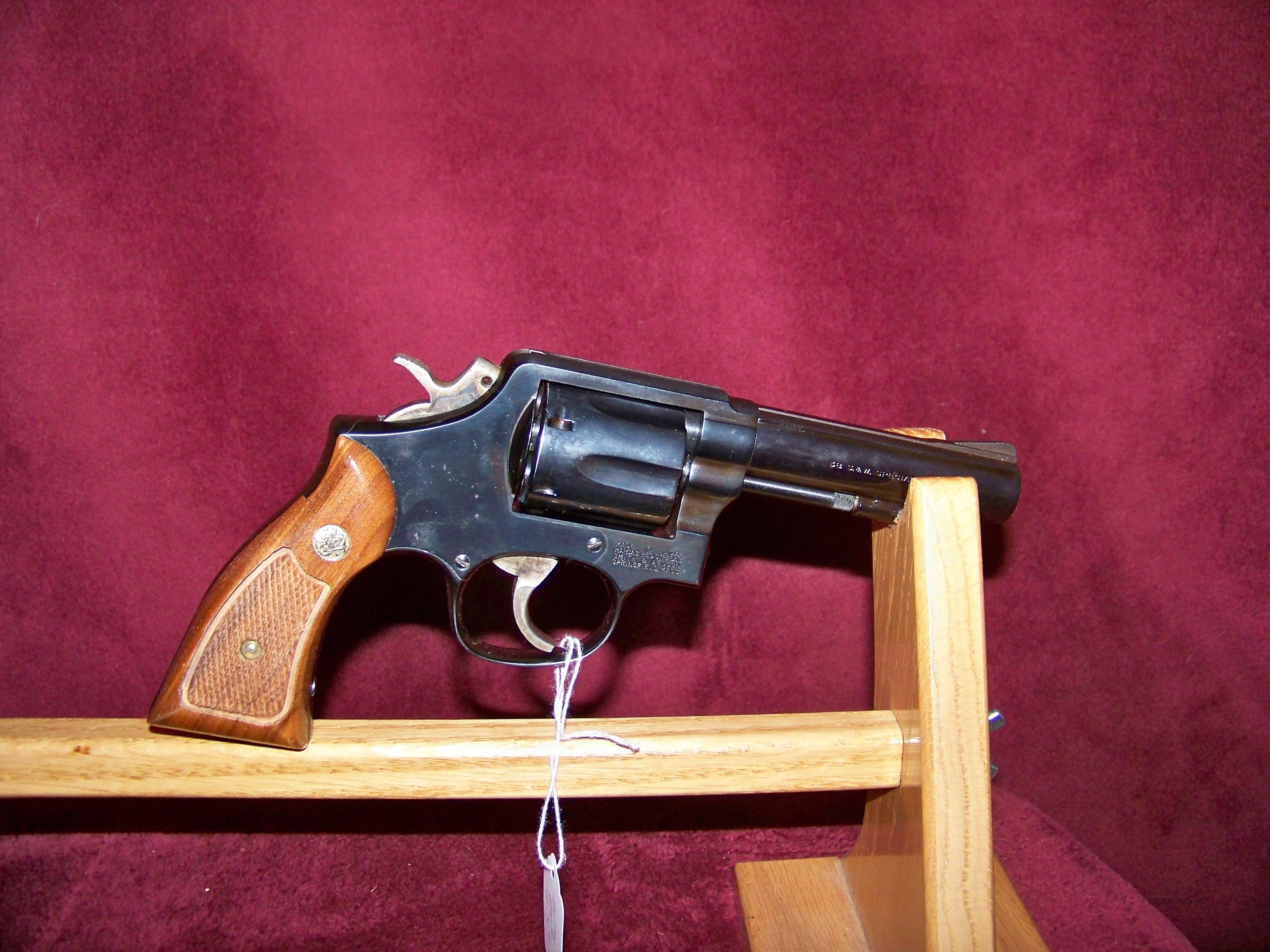 "SMITH & WESSON MODEL 10-8 4"" BLUE  Guns > Pistols > Smith & Wesson Revolvers > Model 10"