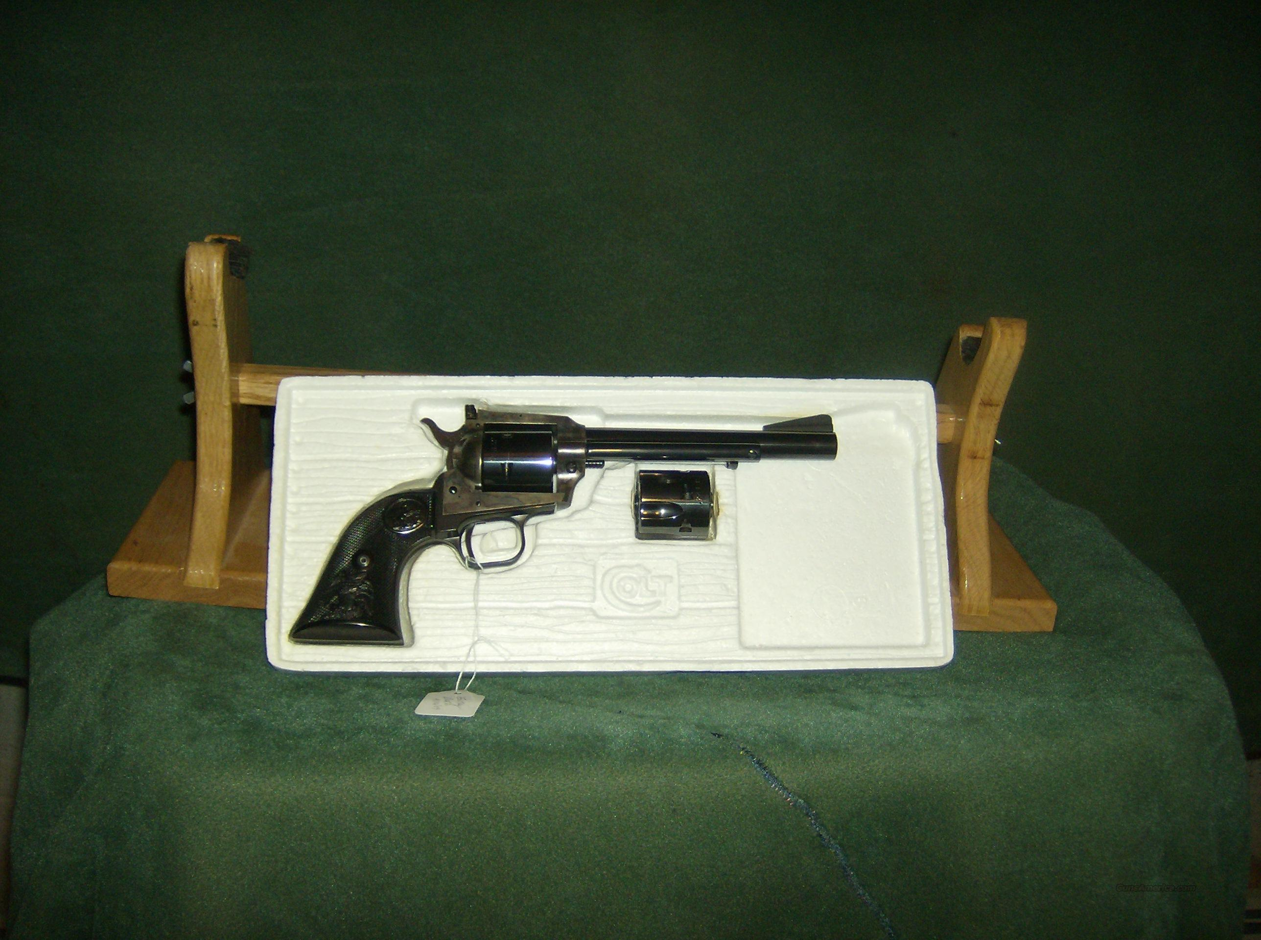 COLT NEW FRONTIER 22 SCOUT  Guns > Pistols > Colt Single Action Revolvers - Modern (22 Cal.)