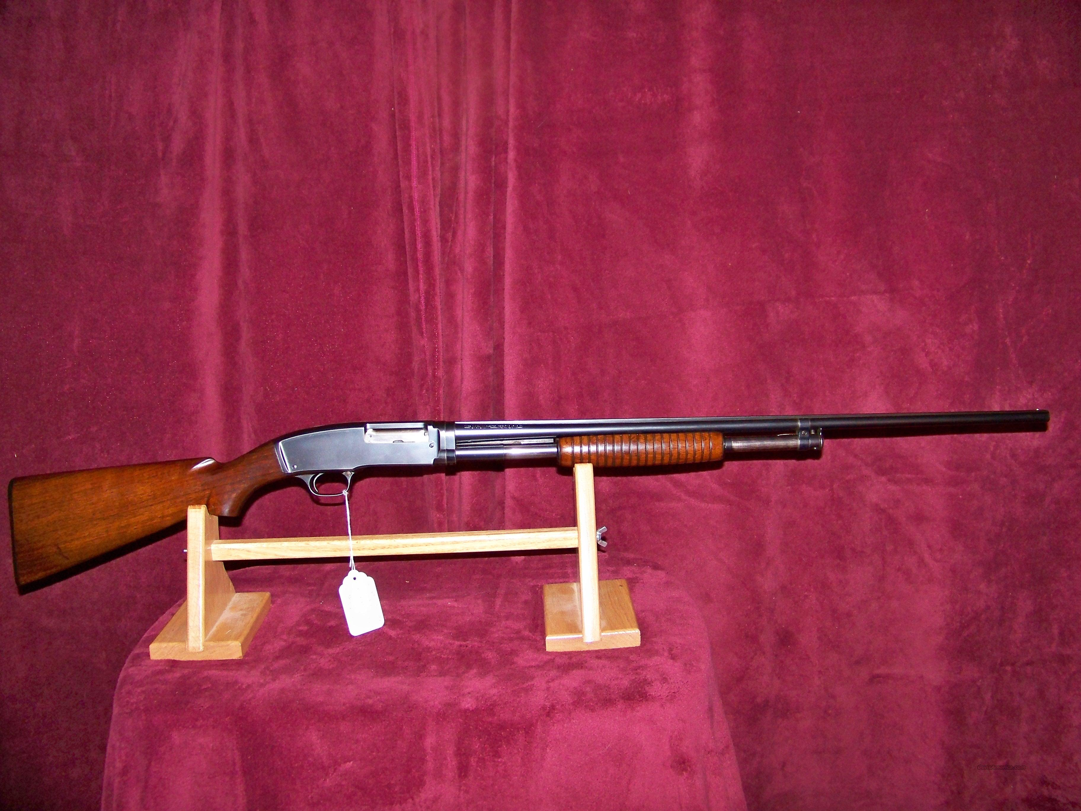 WINCHESTER MODEL 42 PRE WAR SOLID RIB  Guns > Shotguns > Winchester Shotguns - Modern > Pump Action > Hunting