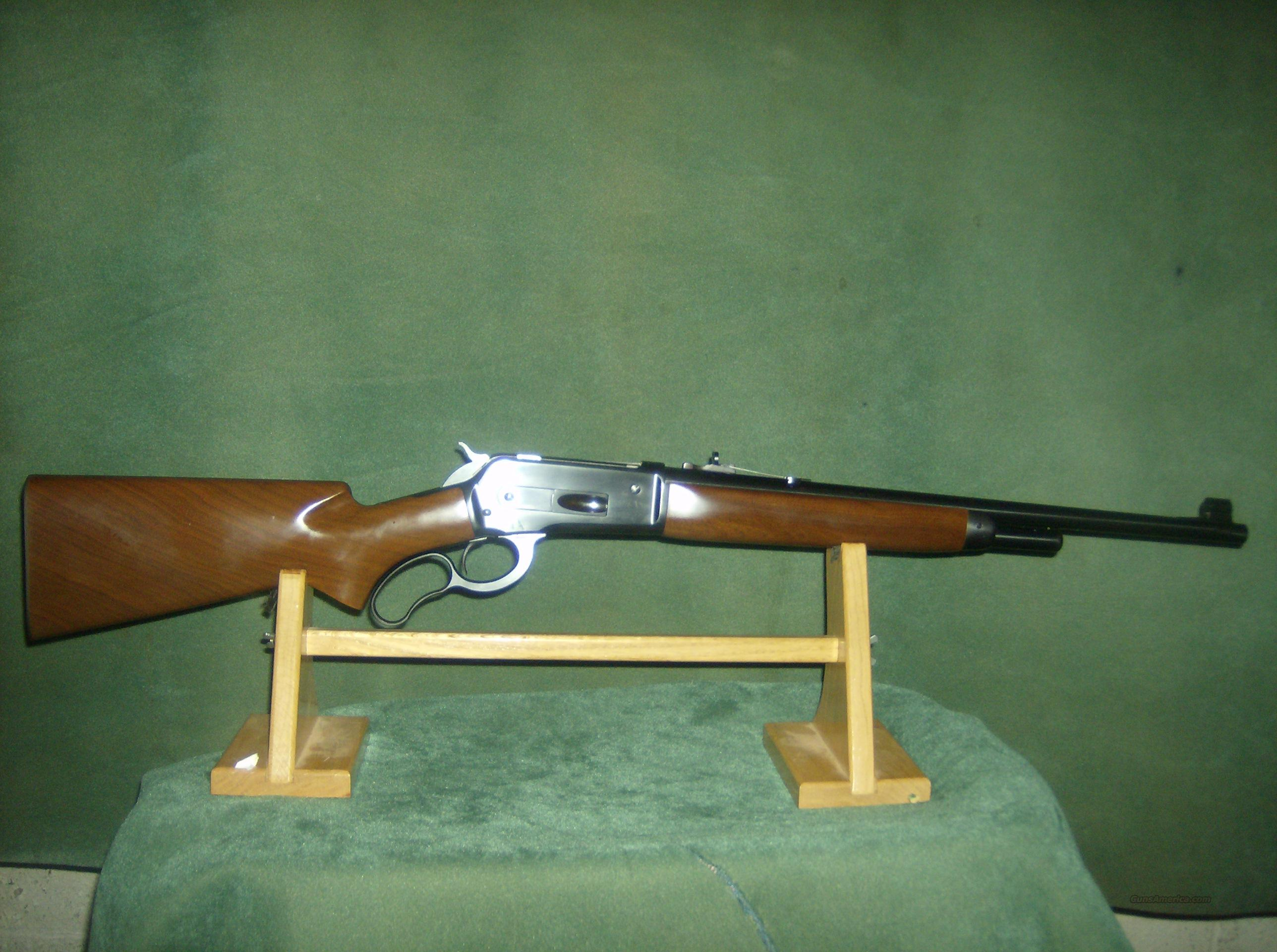 BROWNING MODEL 71 CARBINE 348 WIN  Guns > Rifles > Browning Rifles > Lever Action