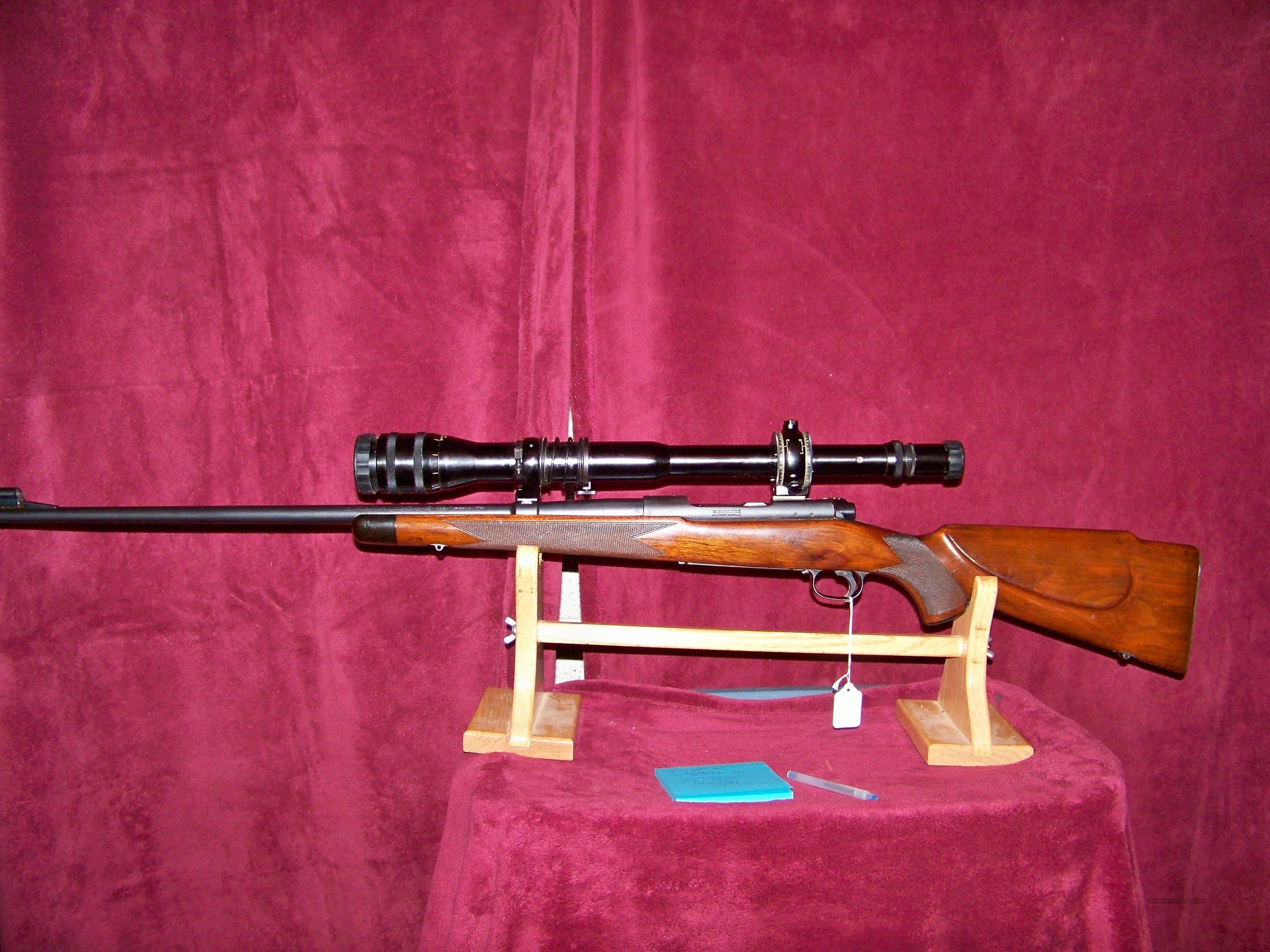 WINCHESTER PRE 64 MODEL 70 SUPER GRADE  Guns > Rifles > Winchester Rifles - Modern Bolt/Auto/Single > Model 70 > Pre-64