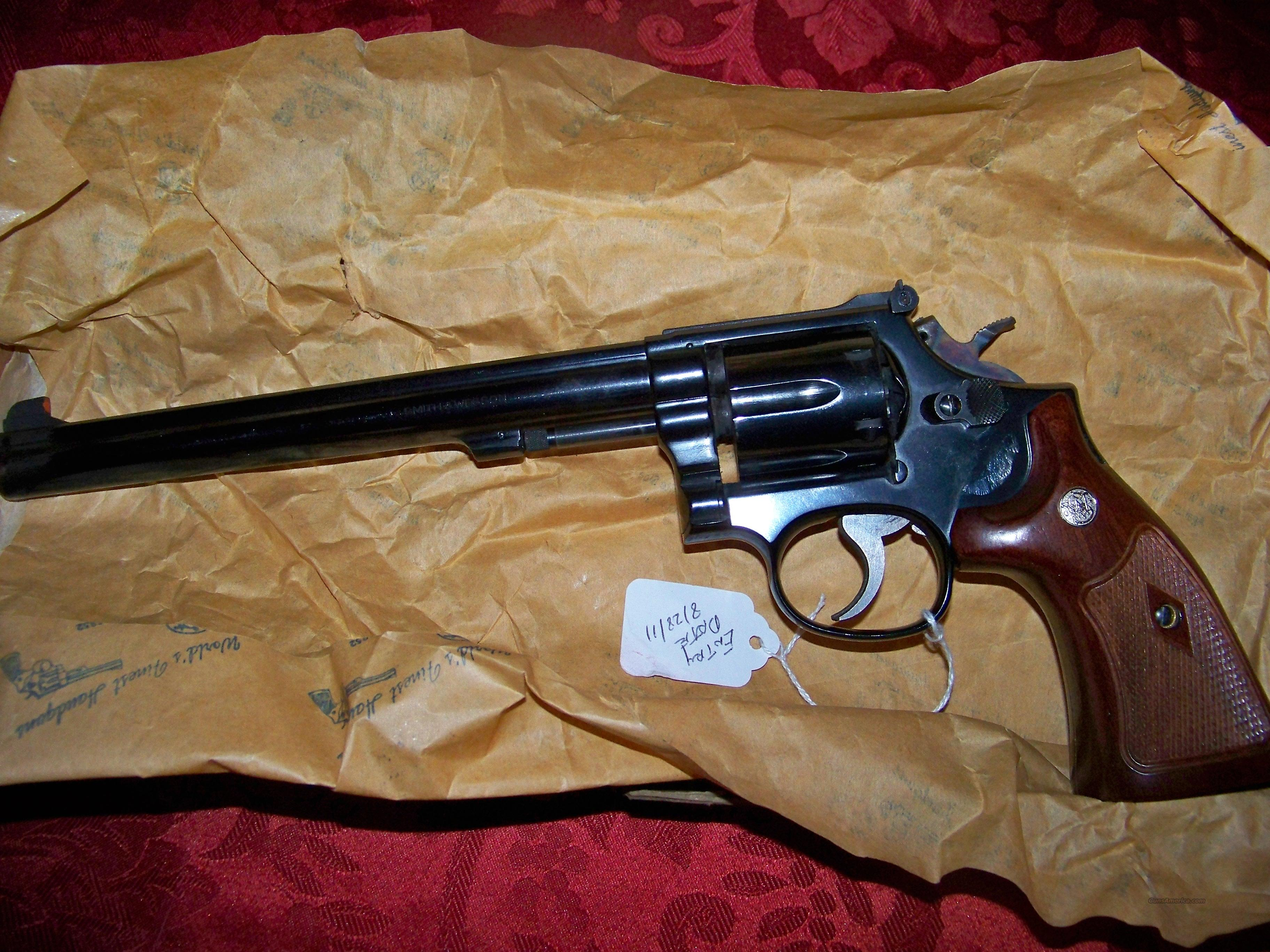 SMITH & WESSON MODEL 14-4 WITH BOX  Guns > Pistols > Smith & Wesson Revolvers > Full Frame Revolver