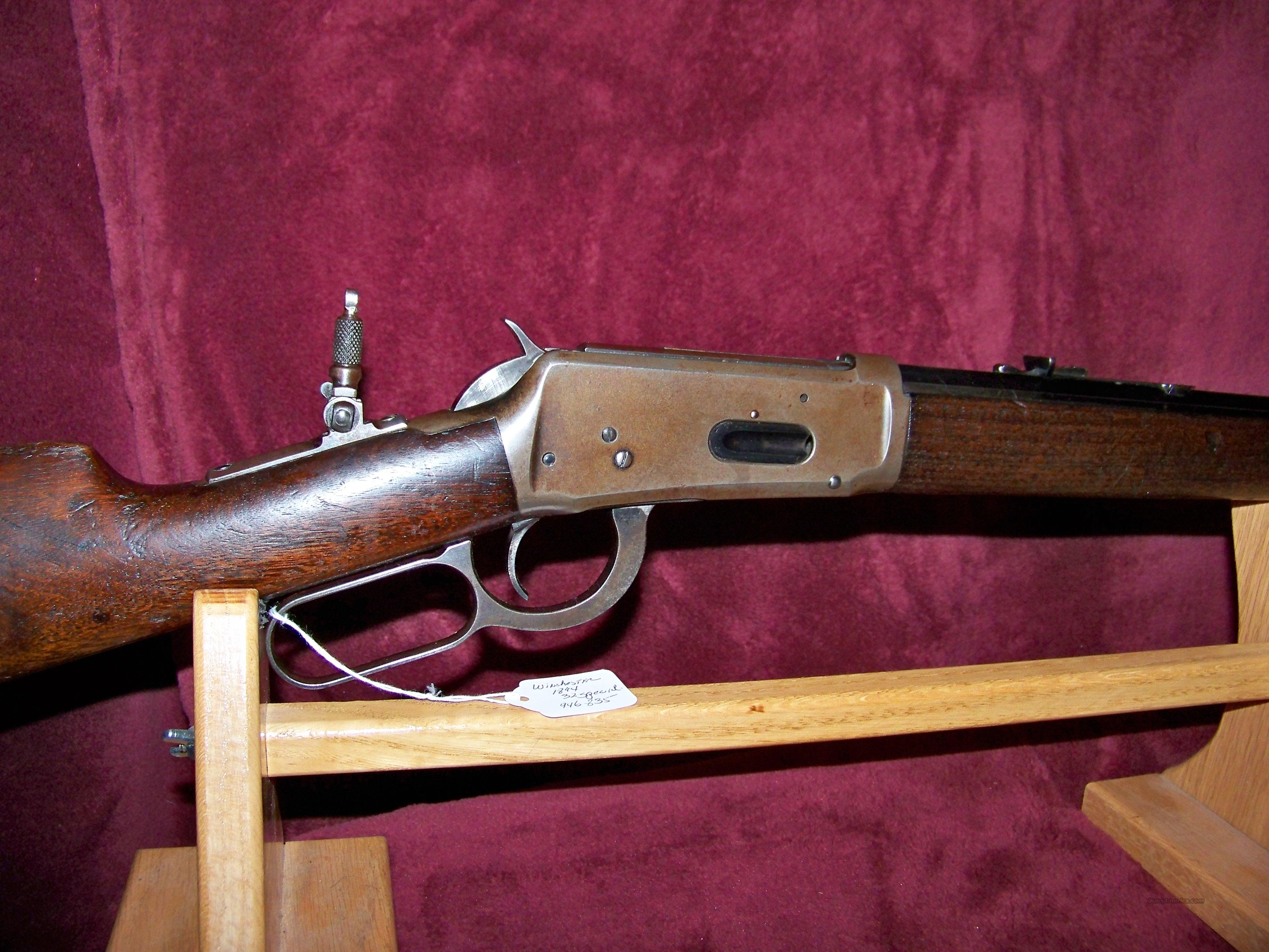 "WINCHESTER MODEL 94 32 SPECIAL 26"" OCT  Guns > Rifles > Winchester Rifles - Modern Lever > Model 94 > Pre-64"