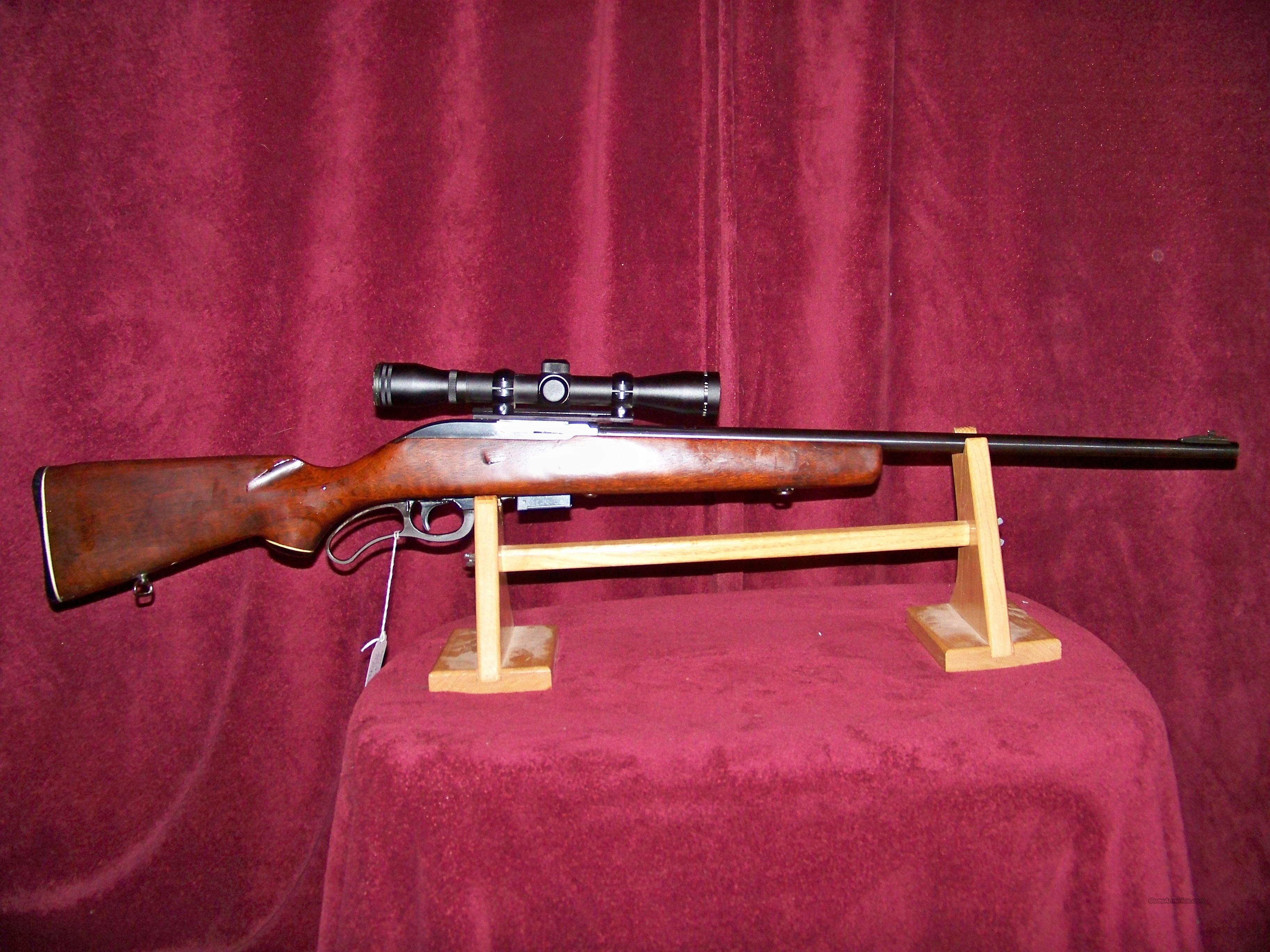 MARLIN MODEL 62 256 WIN CALIBER  Guns > Rifles > Marlin Rifles > Modern > Lever Action