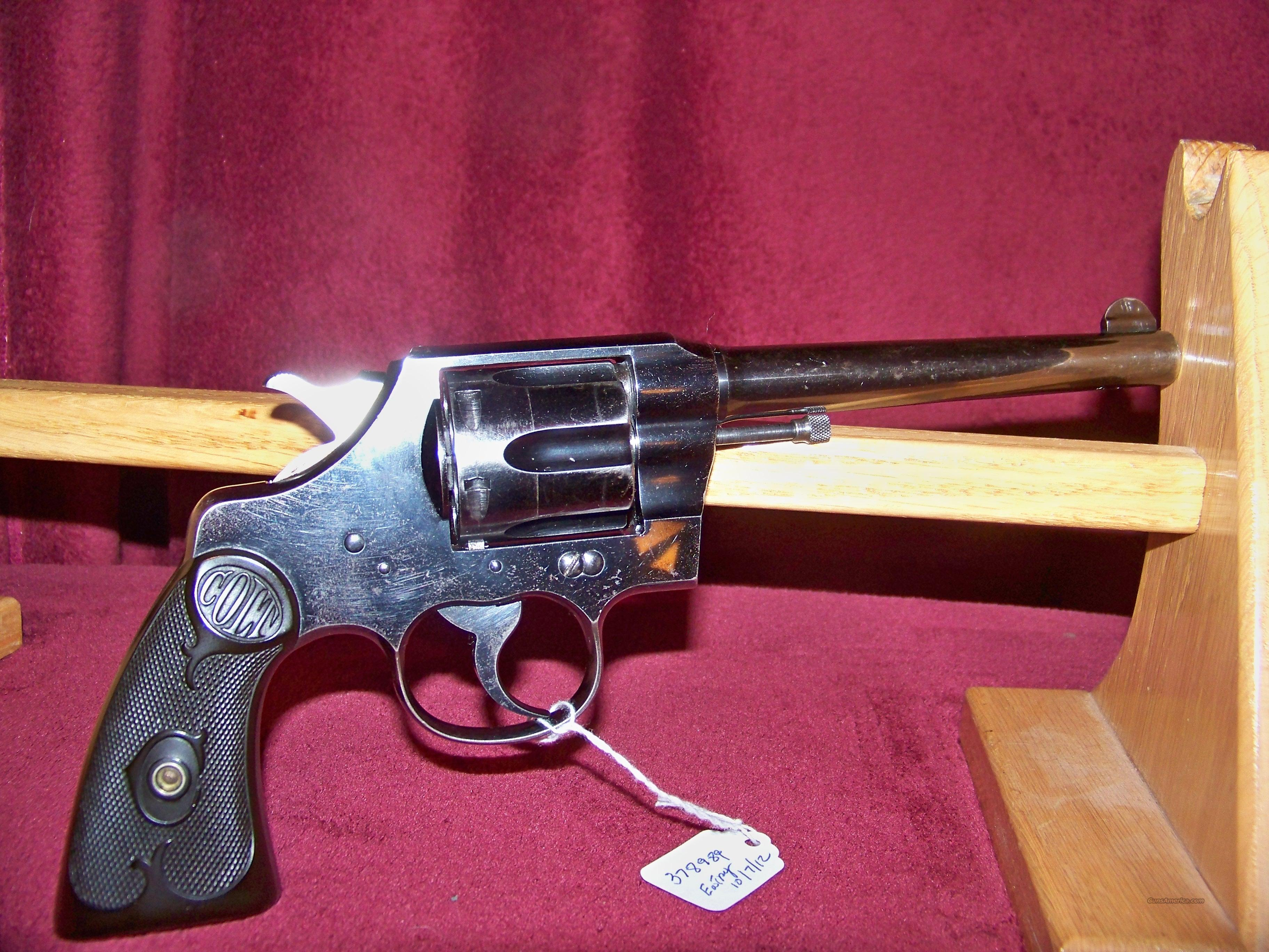 COLT ARMY SPECIAL 38SPECIAL  Guns > Pistols > Colt Double Action Revolvers- Pre-1945