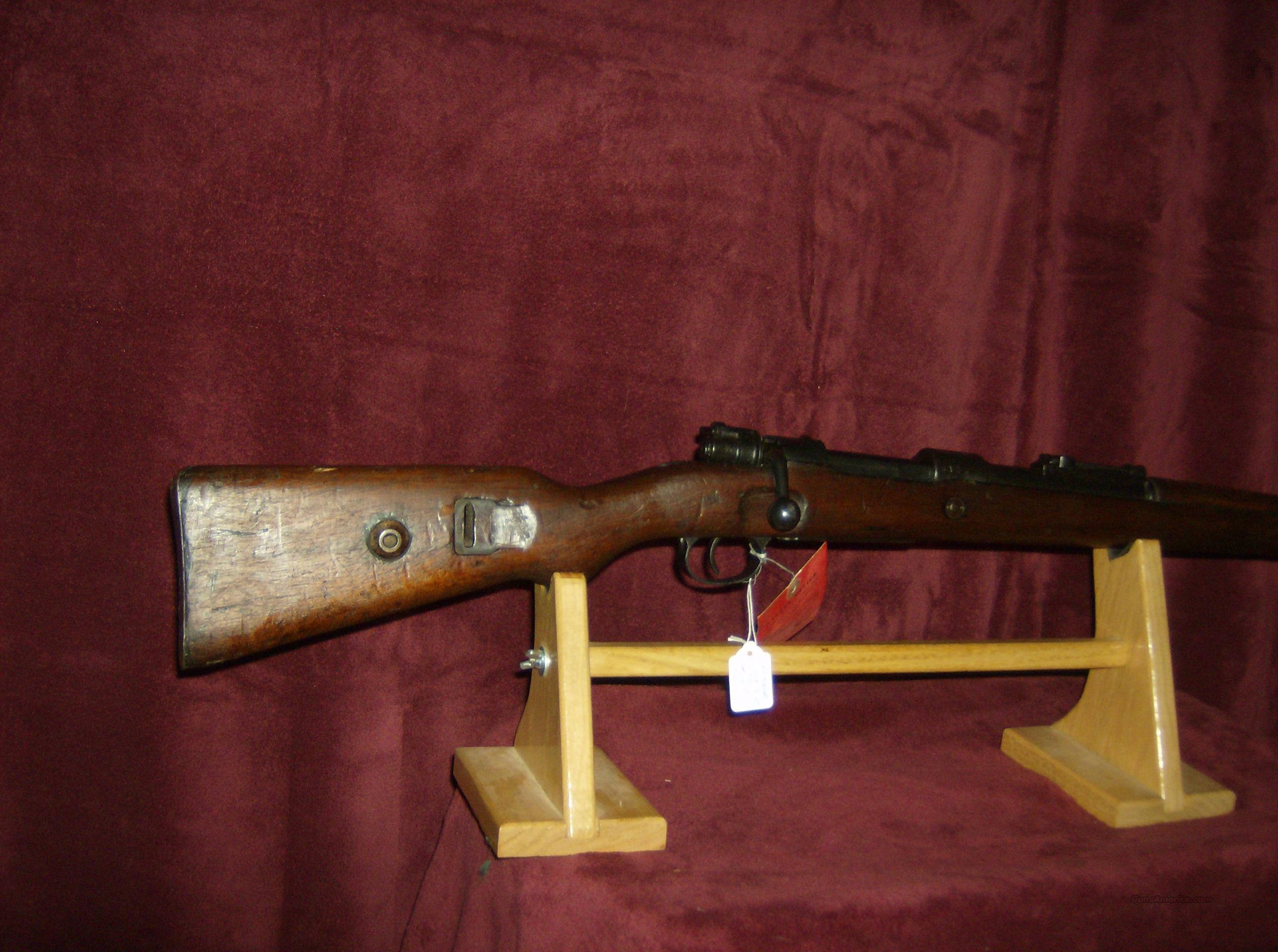 98 MAUSER code S/237 date 1936  Guns > Rifles > Military Misc. Rifles Non-US > Other