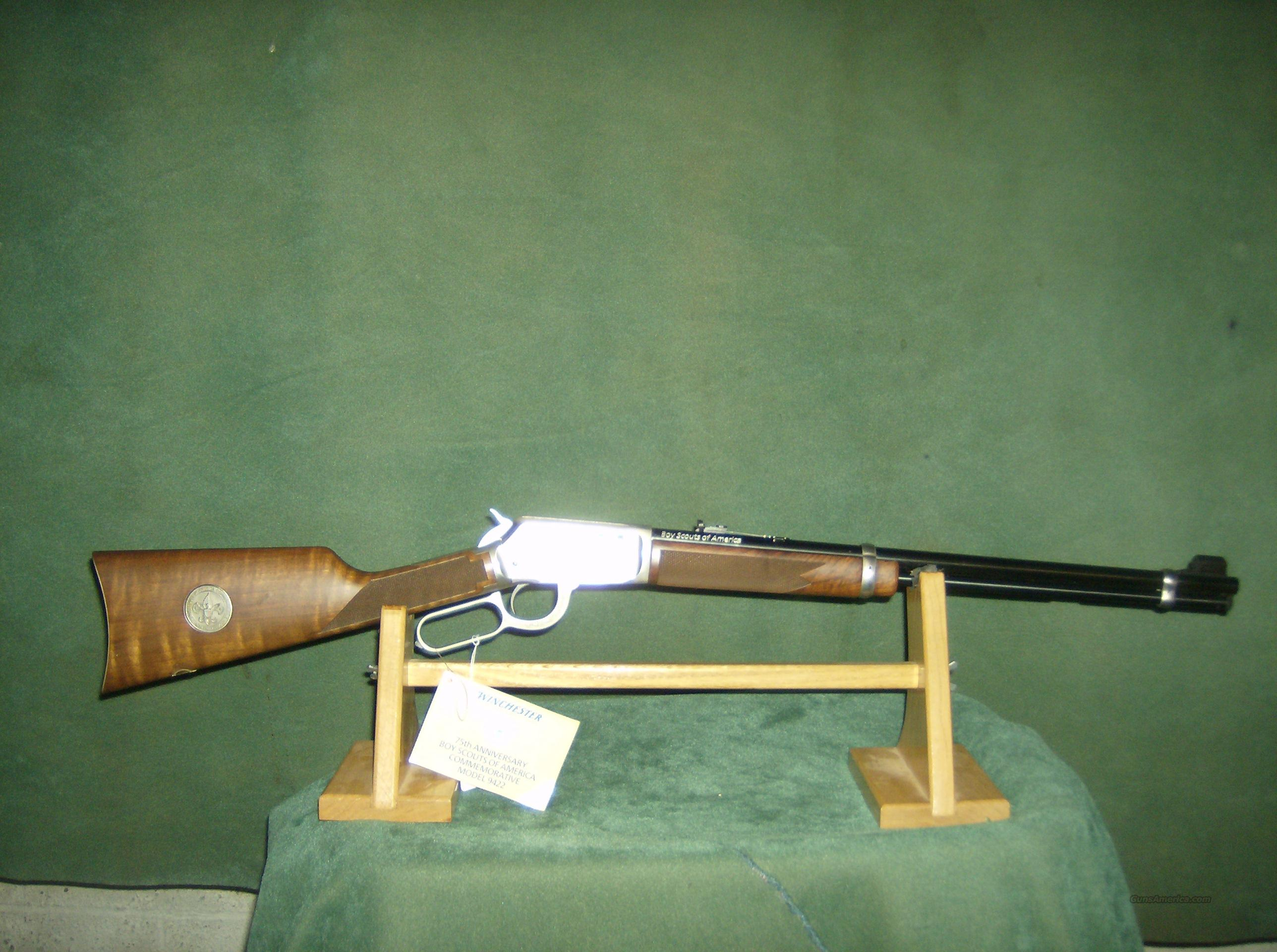 WINCHESTER BOY SCOUTS OF AMERICA  Guns > Rifles > Winchester Rifles - Modern Lever > Other Lever > Post-64