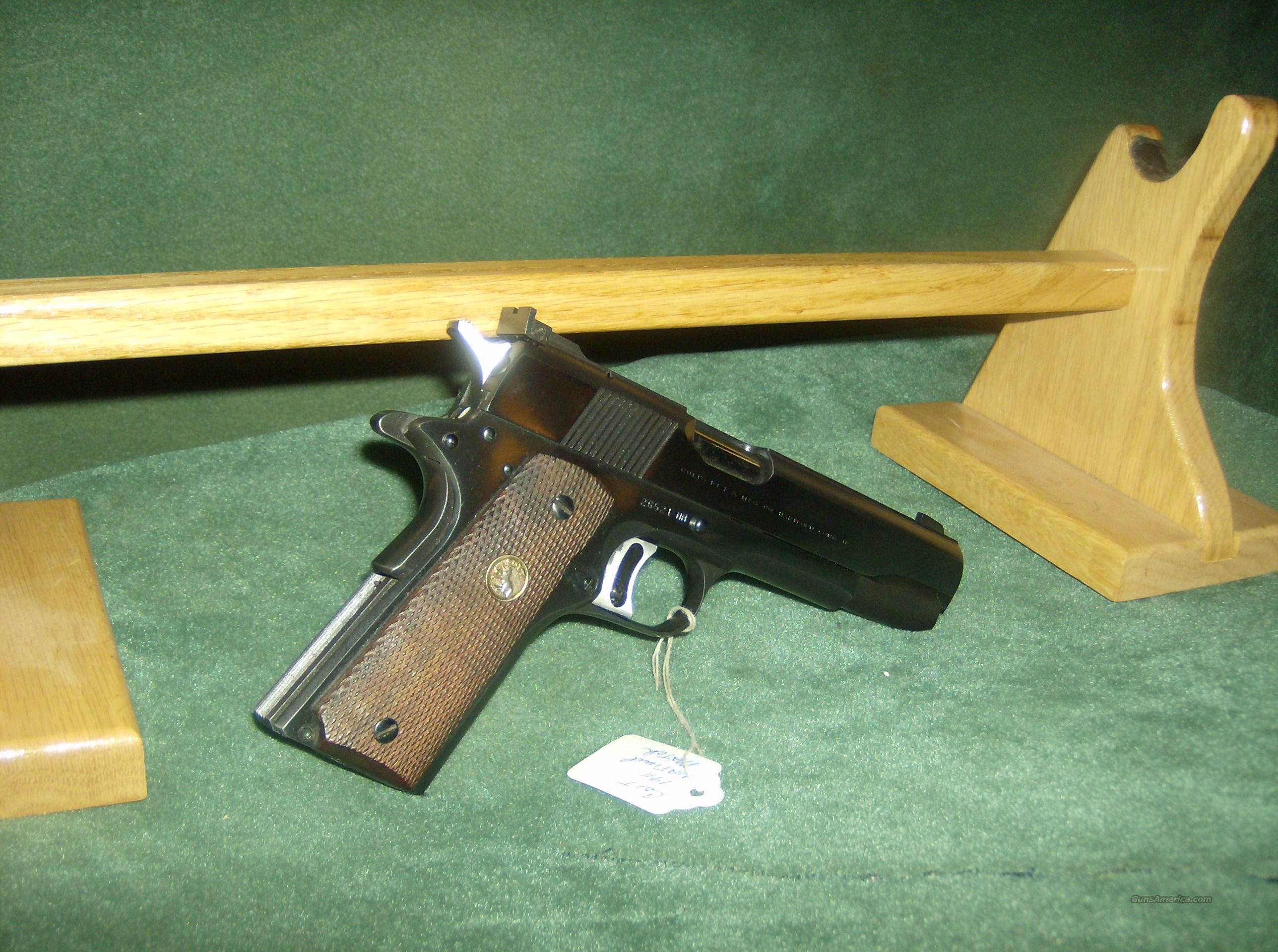 COLT NATIONAL MATCH 45ACP  Guns > Pistols > Colt Automatic Pistols (1911 & Var)