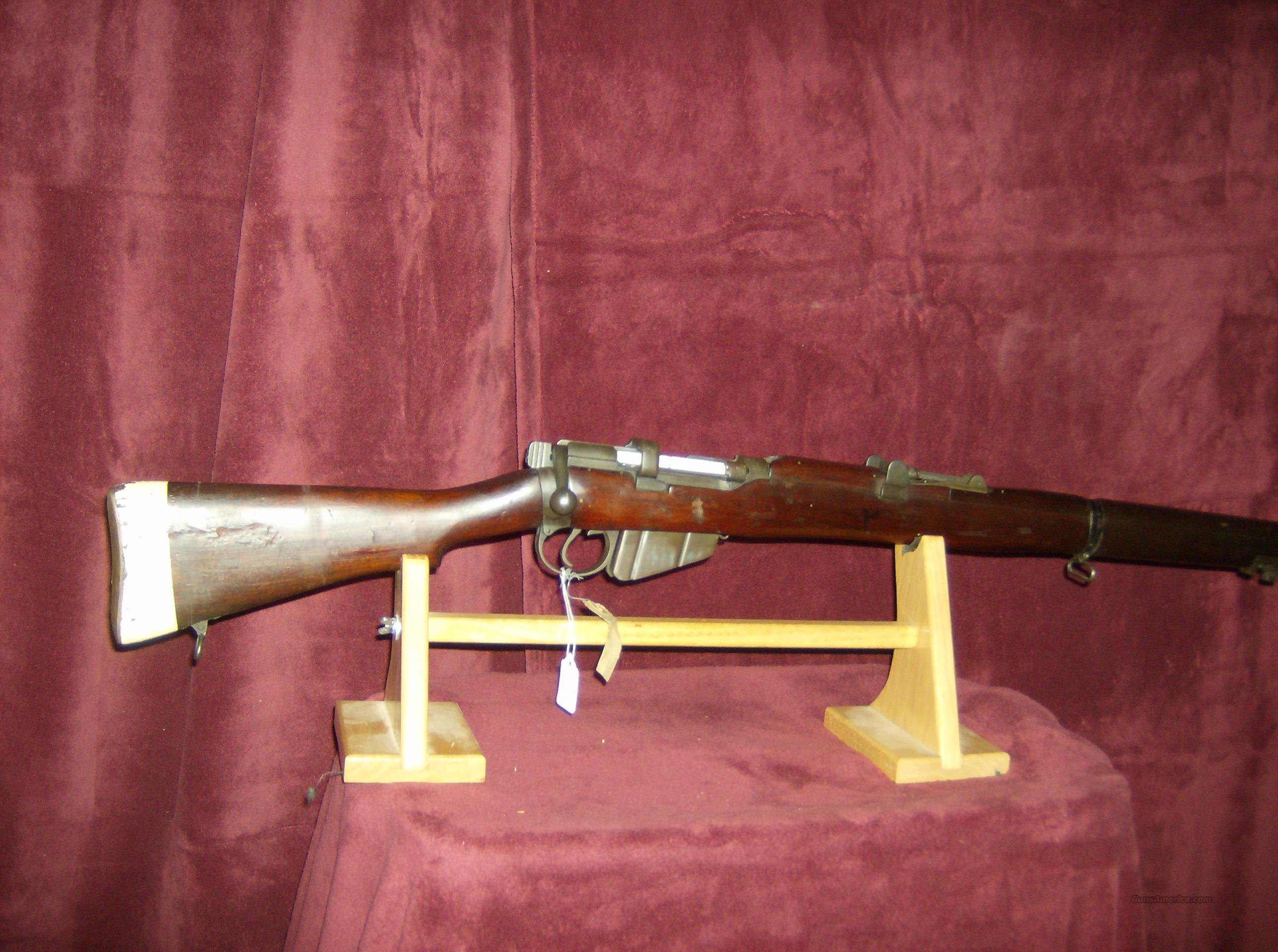 SMLE MARK 111 AUSTRALIA MFG  Guns > Rifles > Military Misc. Rifles Non-US > Other