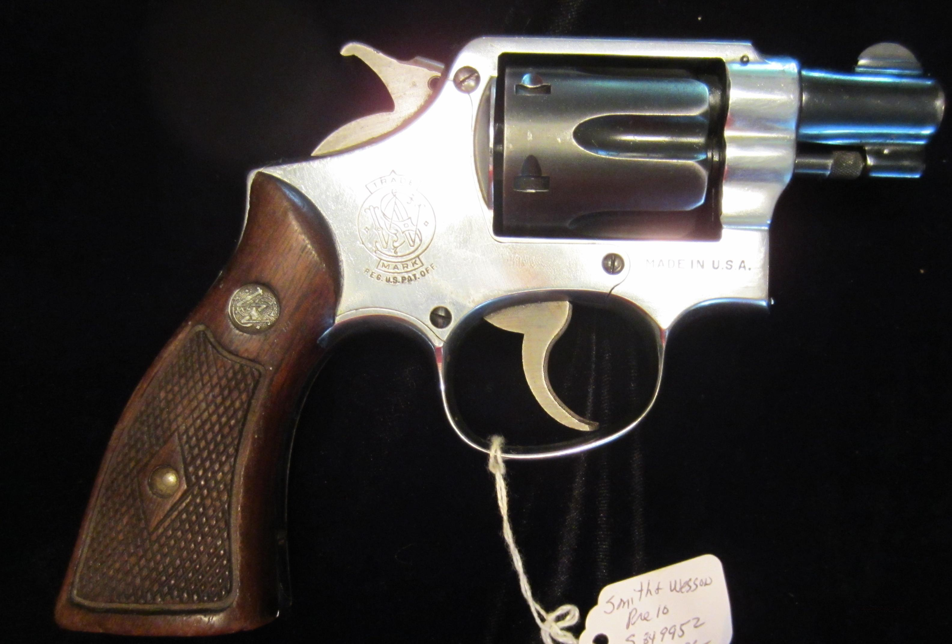 Smith and Wesson 38 Military and Police Post War   Guns > Pistols > Smith & Wesson Revolvers > Full Frame Revolver
