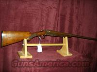 ITHACA CRASS DOUBLE BARREL 12GA  Guns > Shotguns > Ithaca Shotguns > SxS