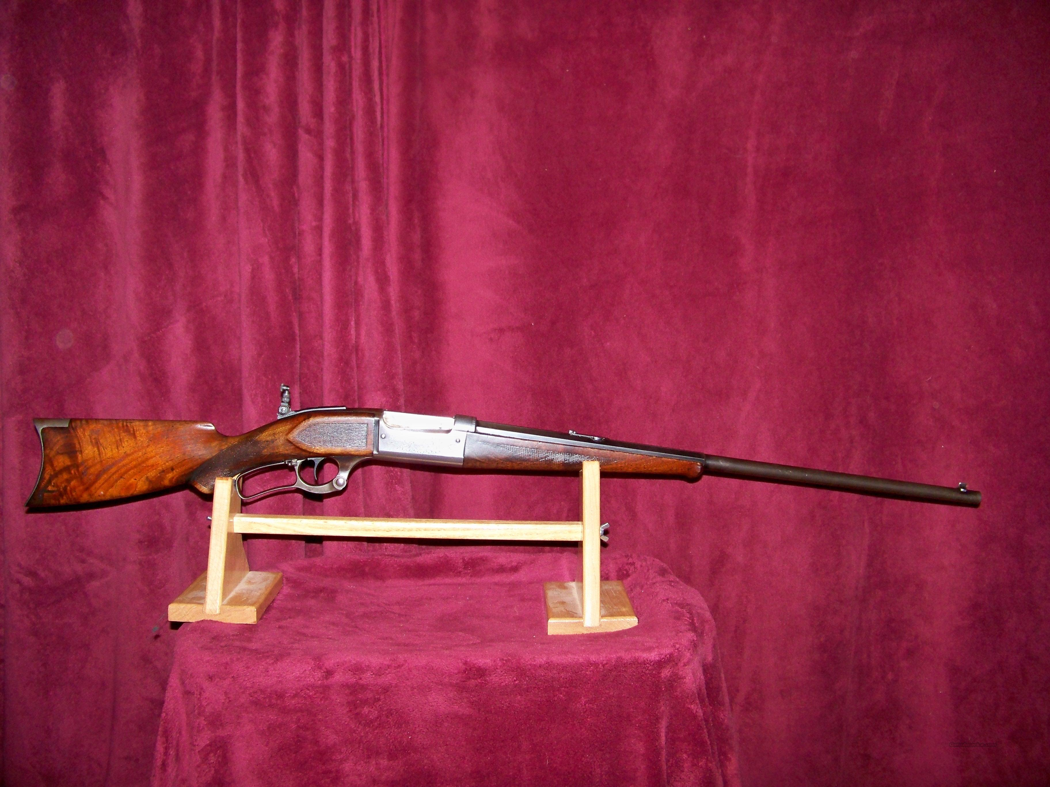 SAVAGE MODEL 1899 FACTORY ENGRAVED  Guns > Rifles > Savage Rifles > Model 95/99 Family