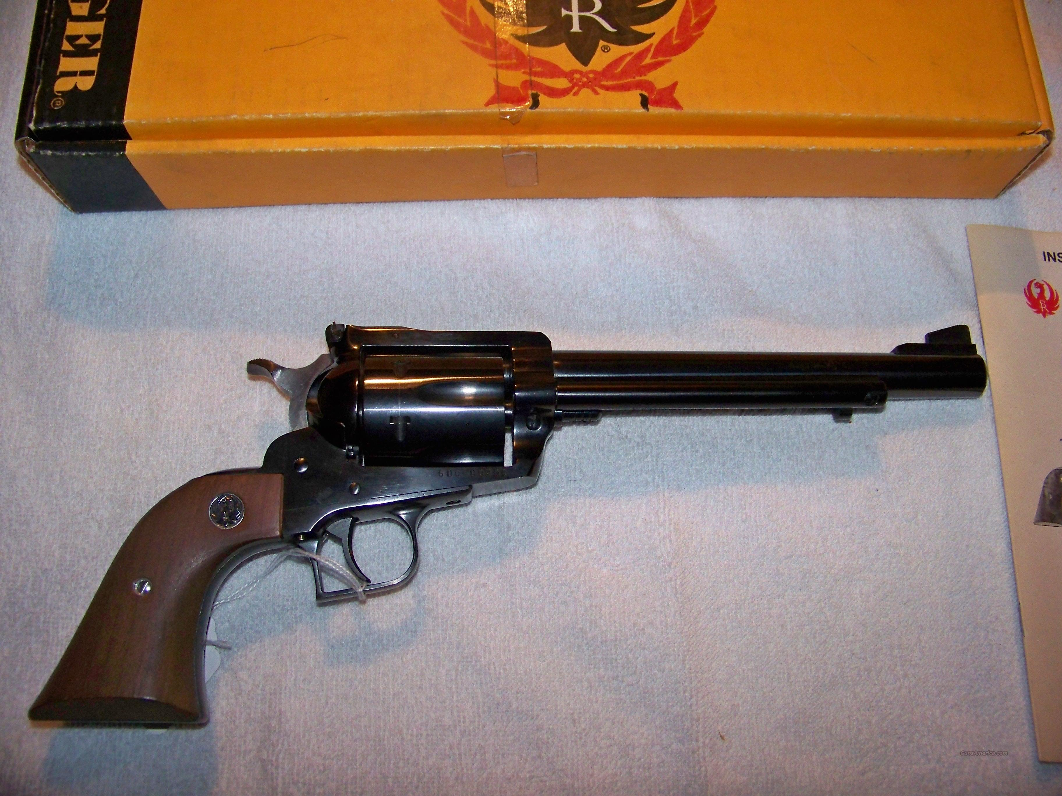 RUGER 357 MAXIMUM  Guns > Pistols > Ruger Single Action Revolvers > Blackhawk Type