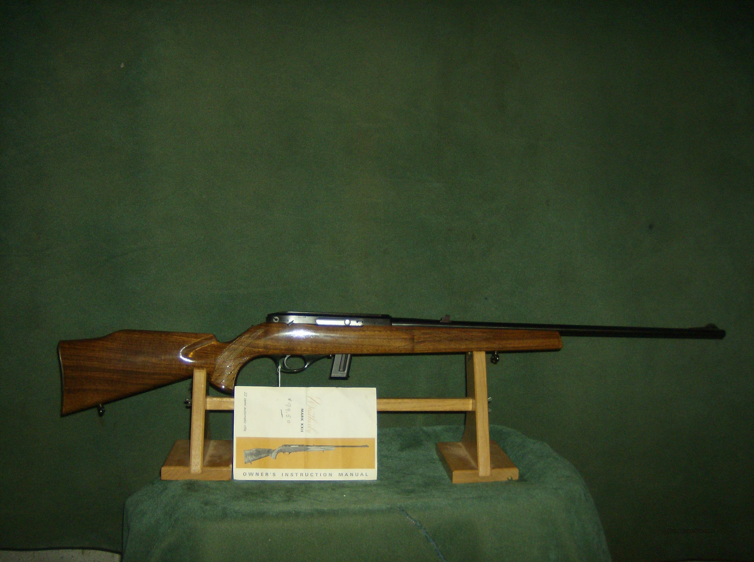 WEATERBY XX11 EARLY ITALIAN MFG  Guns > Rifles > Weatherby Rifles > Sporting