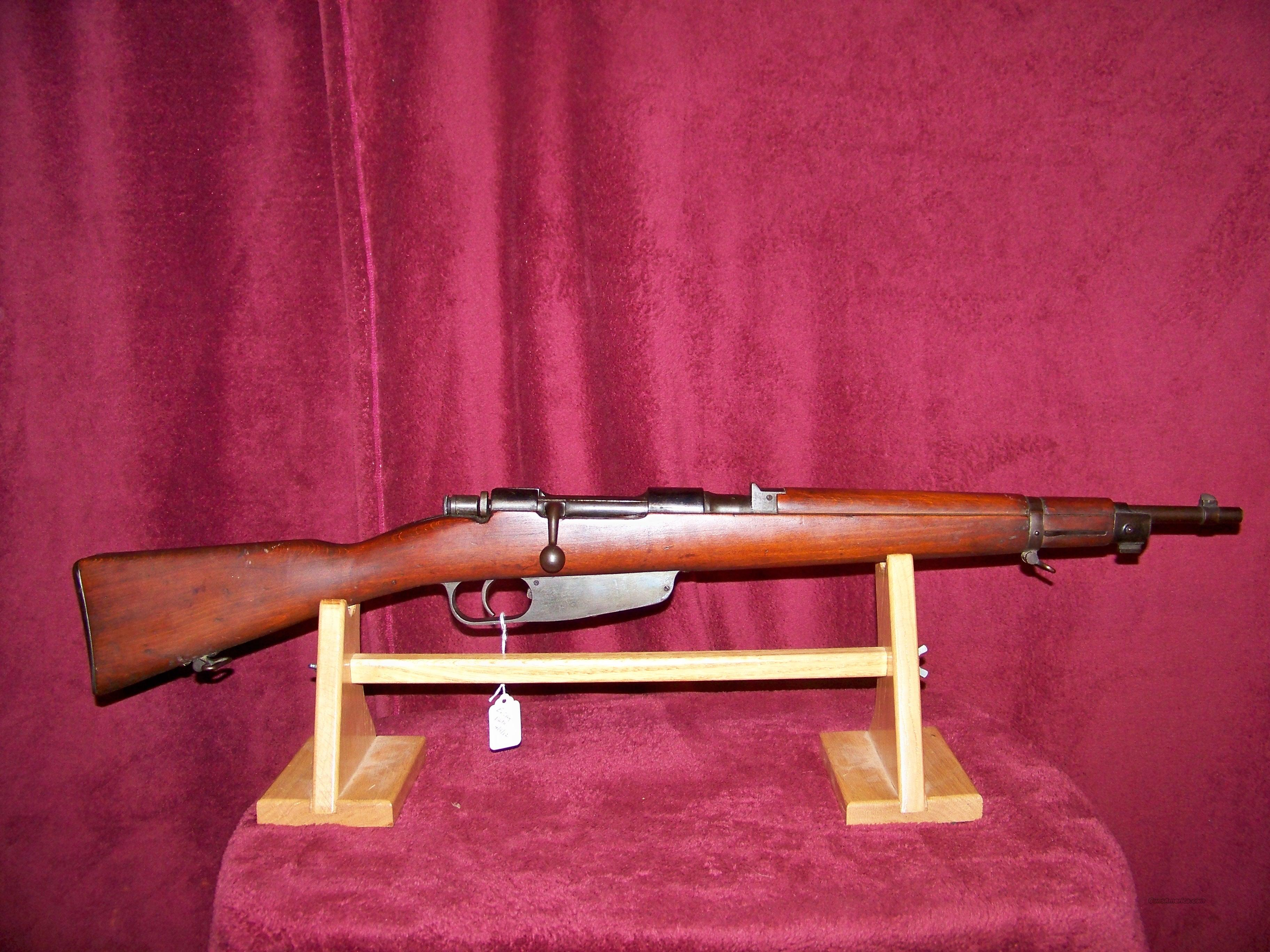 ITALIAN MODEL 1938 CARBINE  Guns > Rifles > Military Misc. Rifles Non-US > Other