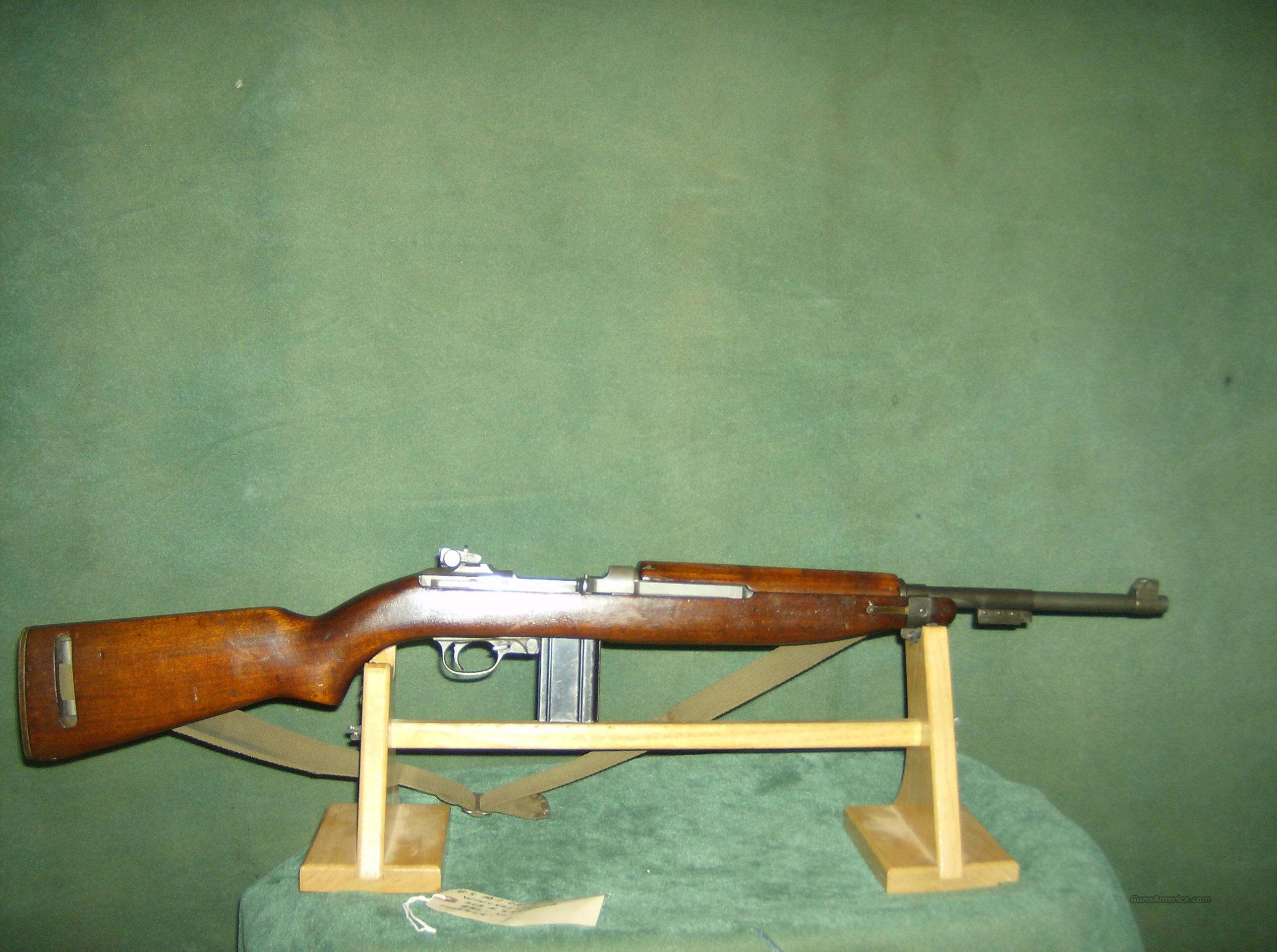 WINCHESTER M1 CARBINE WITH DCM PAPERS  Guns > Rifles > Military Misc. Rifles US > M1 Carbine