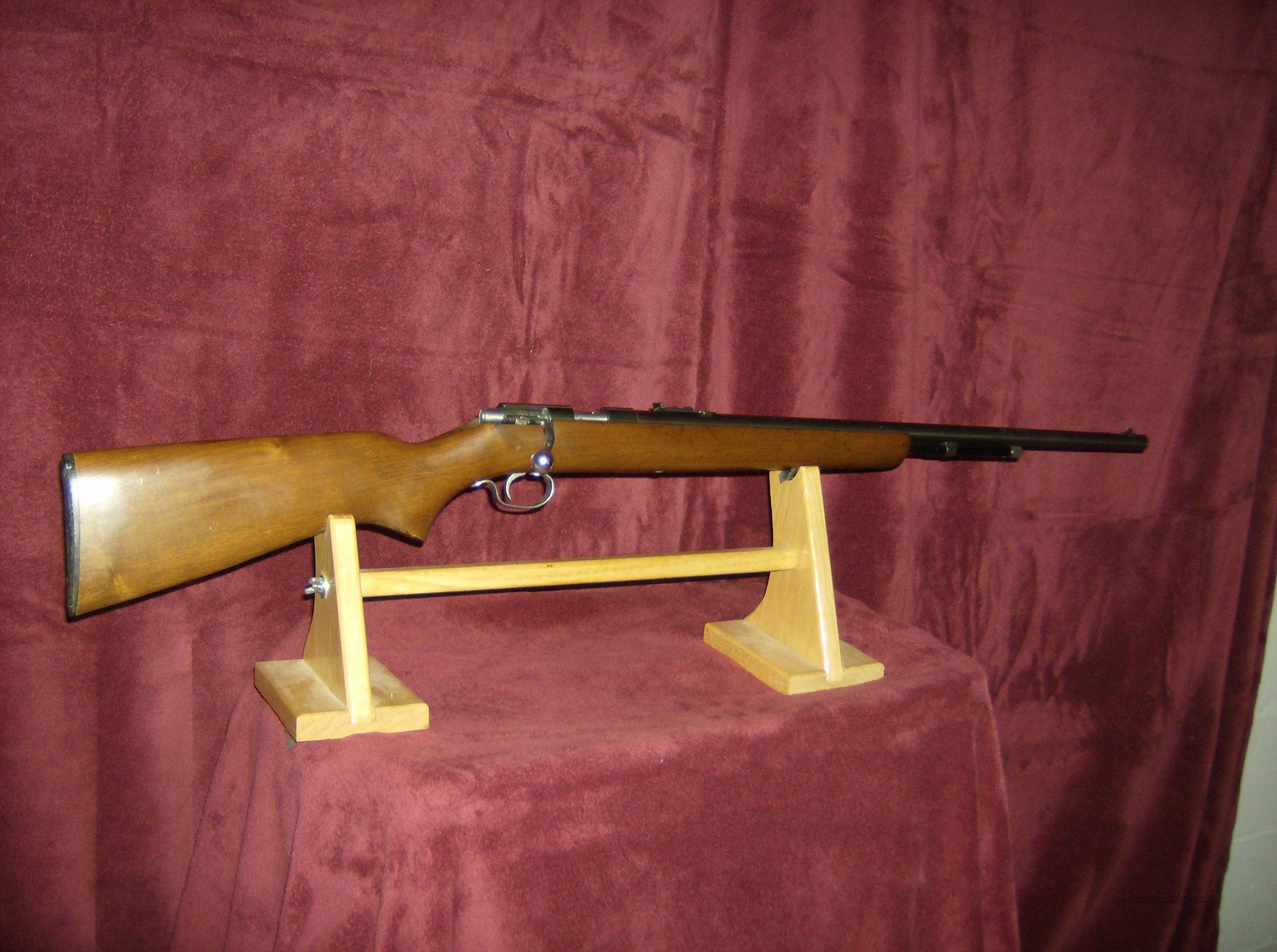 WINCHESTER MODEL 72A GROOVED RECEIVER  Guns > Rifles > Winchester Rifles - Modern Bolt/Auto/Single > Other Bolt Action