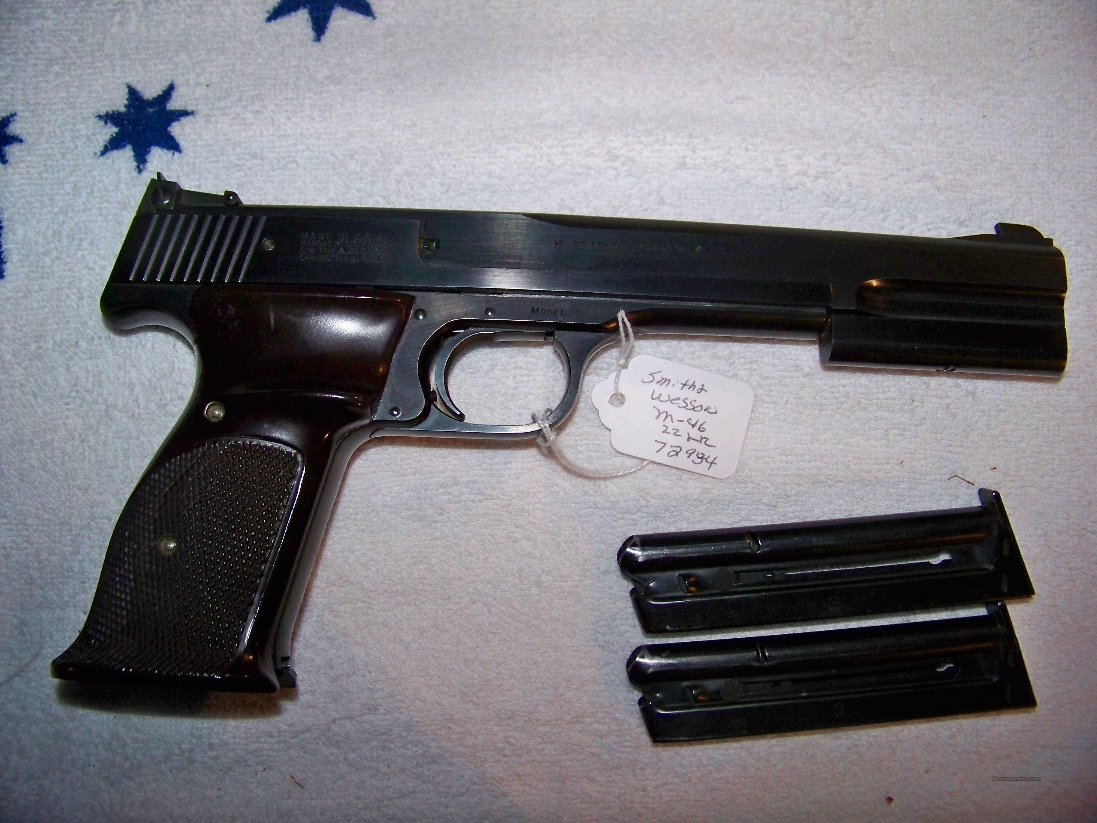 "S&W MODEL 46  7"" BARREL  Guns > Pistols > Smith & Wesson Pistols - Autos > .22 Autos"