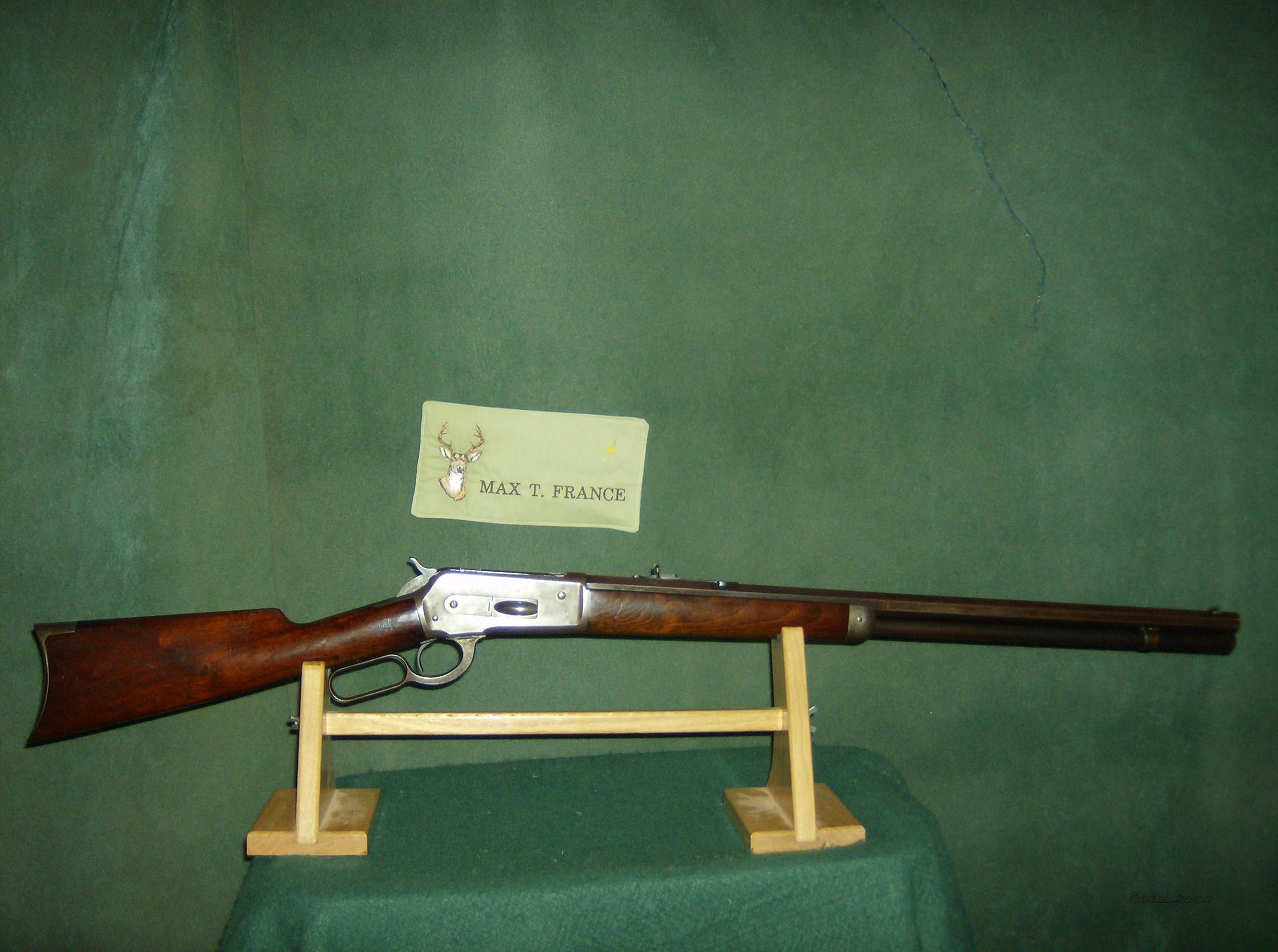 WINCHESTER MODEL 1886 45-90 WCF  Guns > Rifles > Winchester Rifles - Pre-1899 Lever