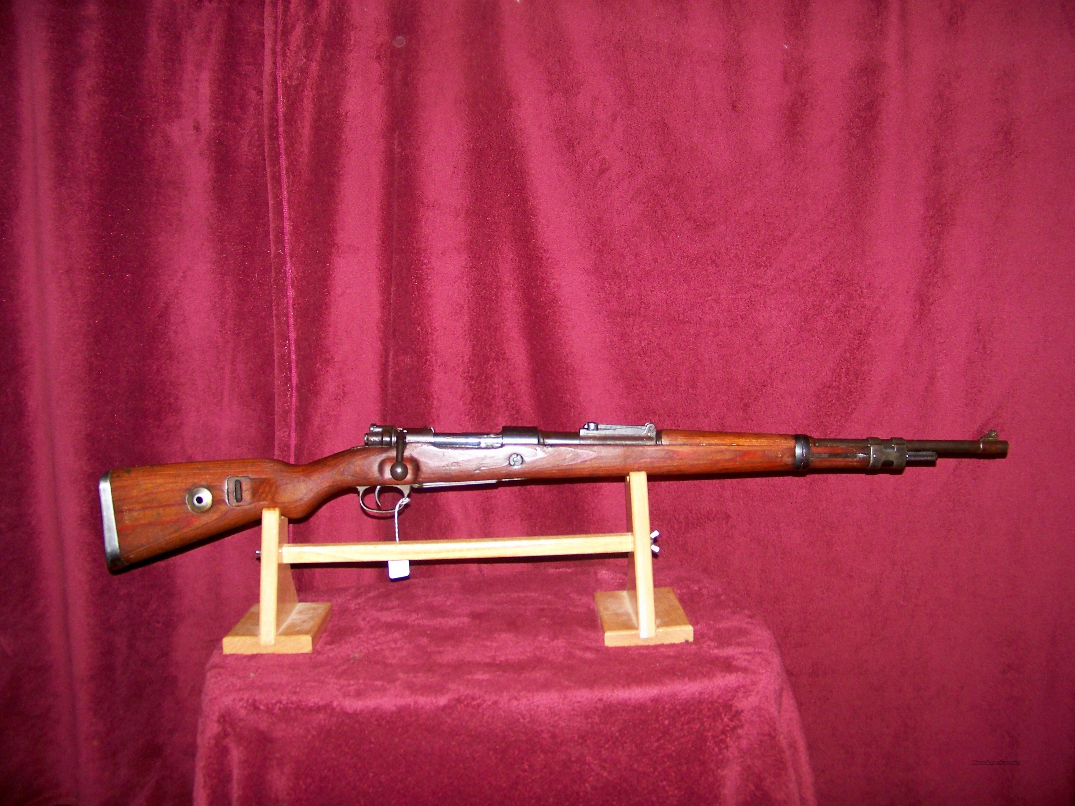 K98K 660 ((CODE)) YEAR 1940  Guns > Rifles > Military Misc. Rifles Non-US > Other