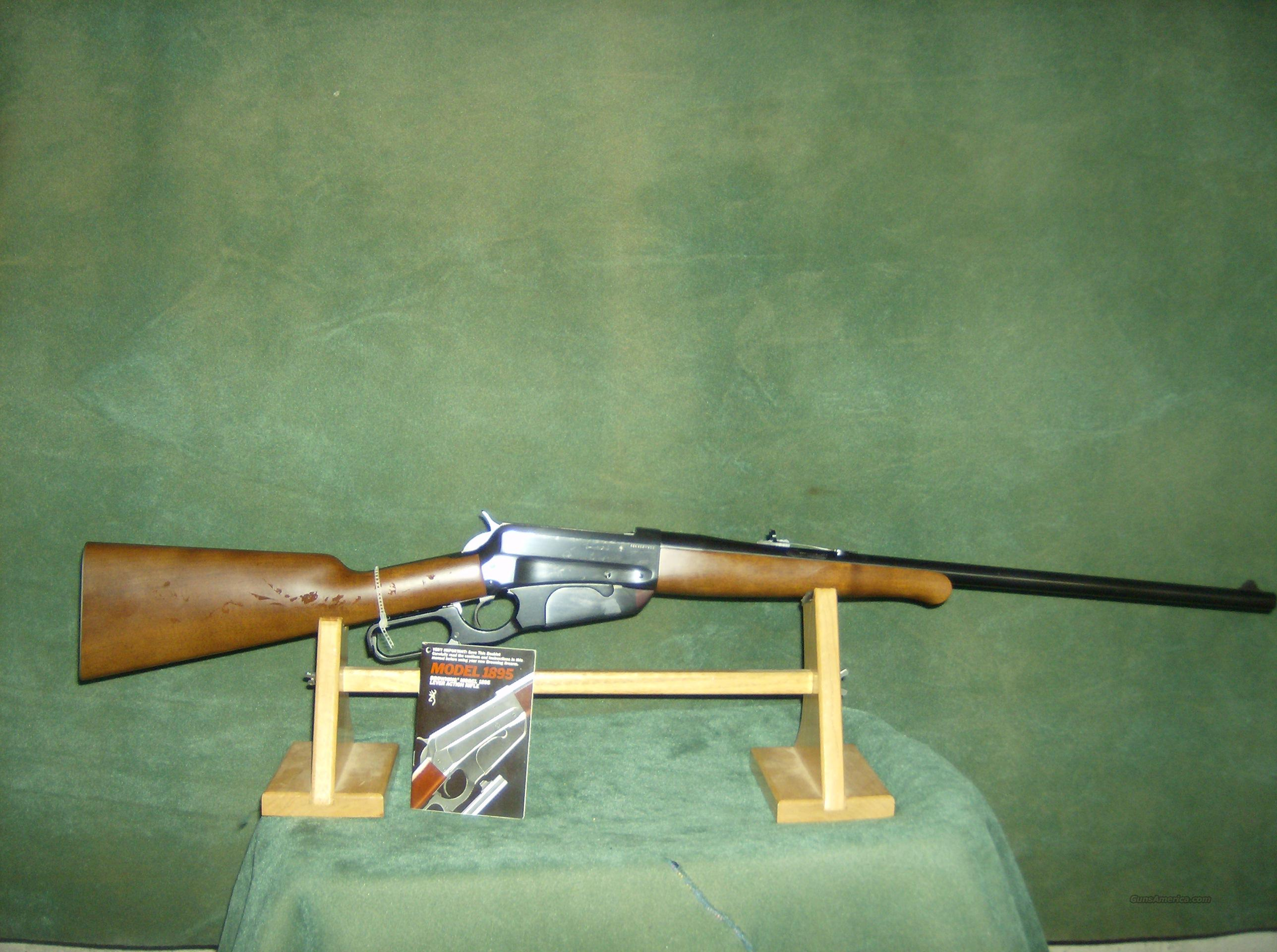 BROWNING MODEL 1895  30-40 KRAG NEW IN BOX  Guns > Rifles > Browning Rifles > Lever Action