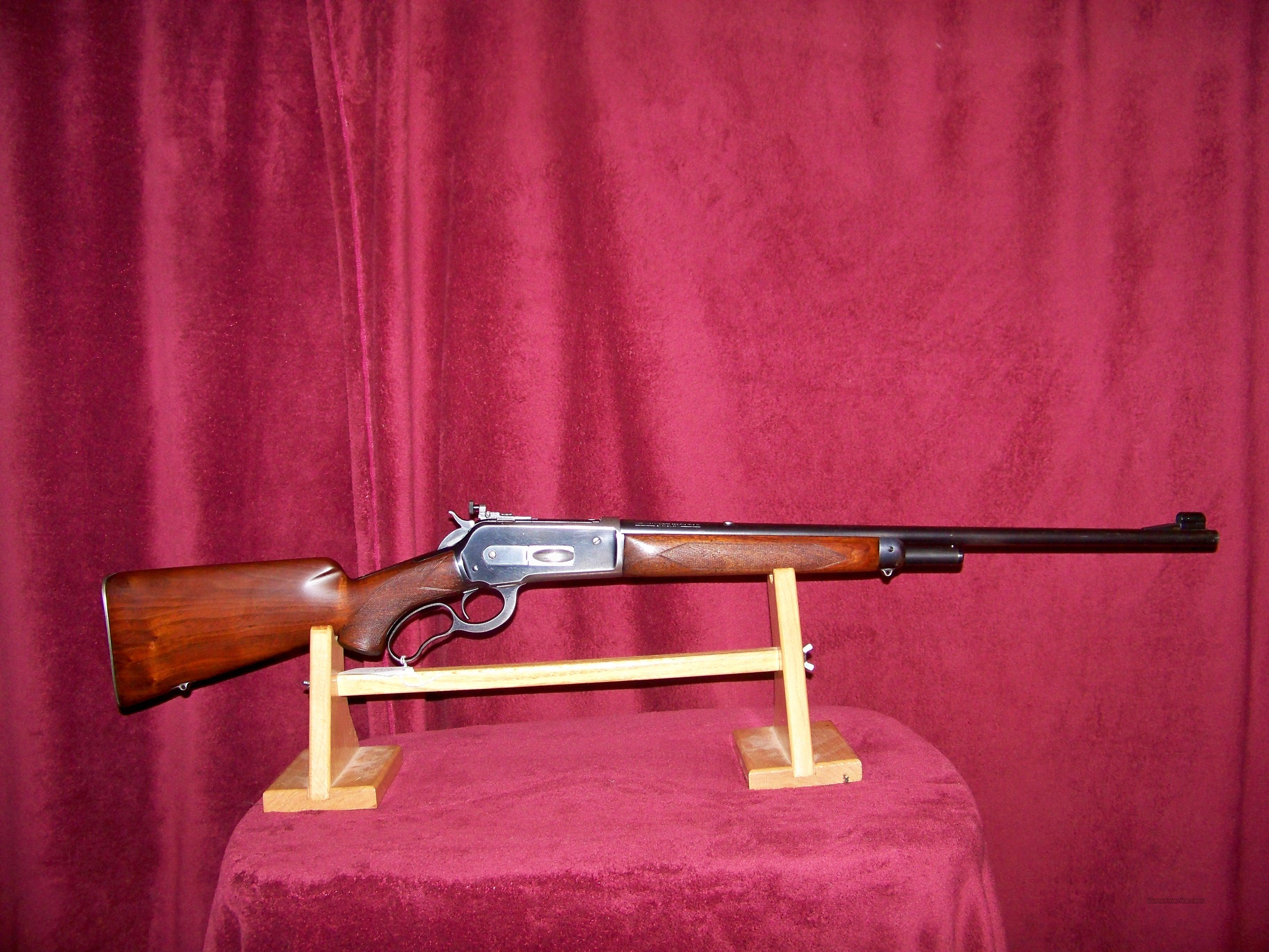 WINCHESTER 71 DELUXE PRE WAR  Guns > Rifles > Winchester Rifles - Modern Lever > Other Lever > Pre-64