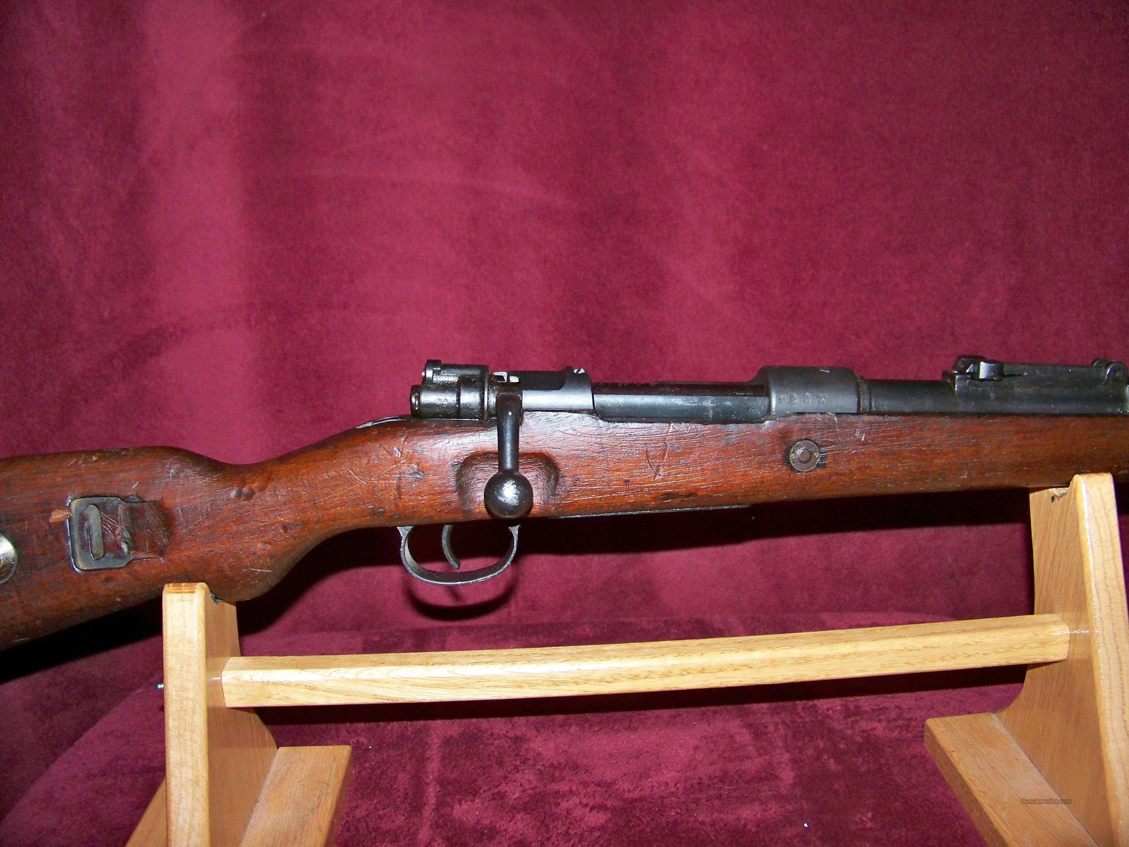 MAUSER MODEL 98 MARKED S/237 DATE 1936  Guns > Rifles > Military Misc. Rifles Non-US > Other
