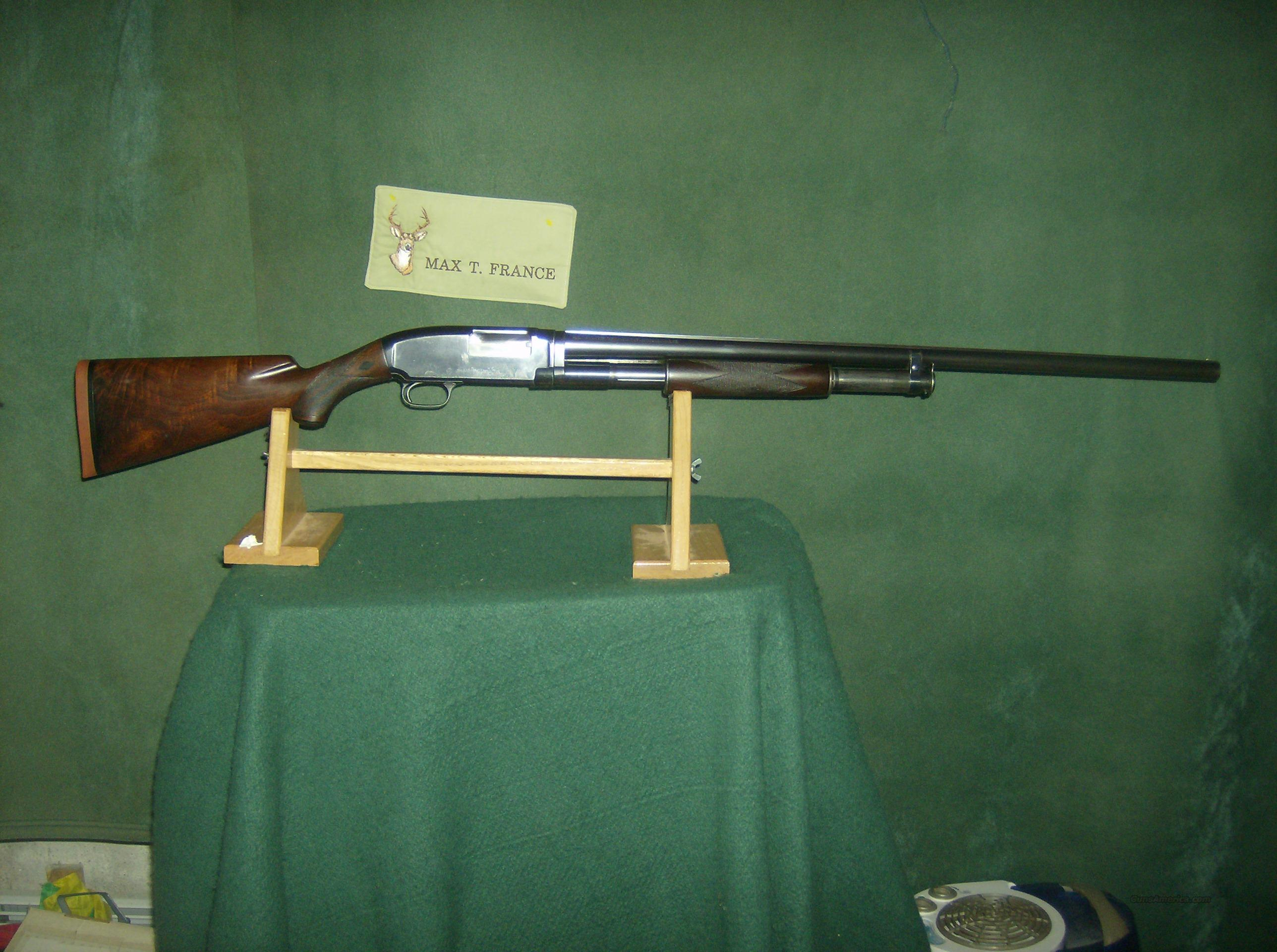 WINCHESTER MODEL MODEL 12 BLACK DIAMOND TRAP  Guns > Shotguns > Winchester Shotguns - Modern > Pump Action > Trap/Skeet