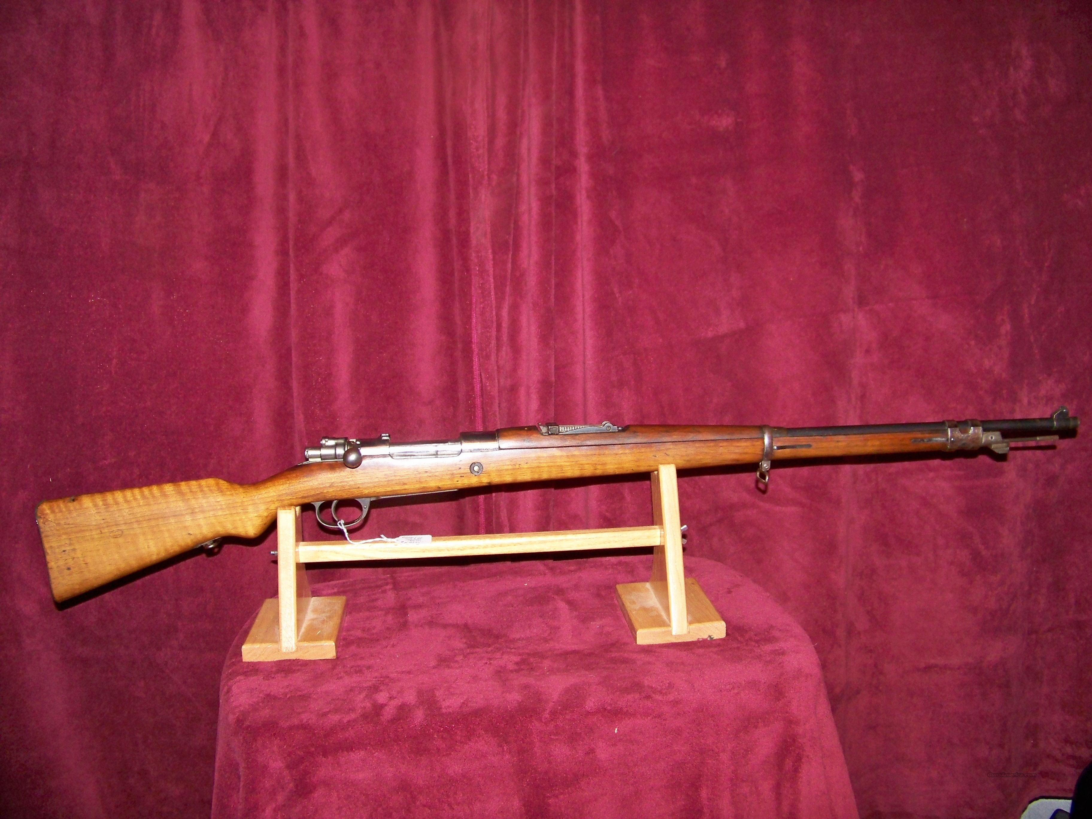 ((((SOLD))))))MAUSER MODEL 1909 ARGINTNO  Guns > Rifles > Military Misc. Rifles Non-US > Other