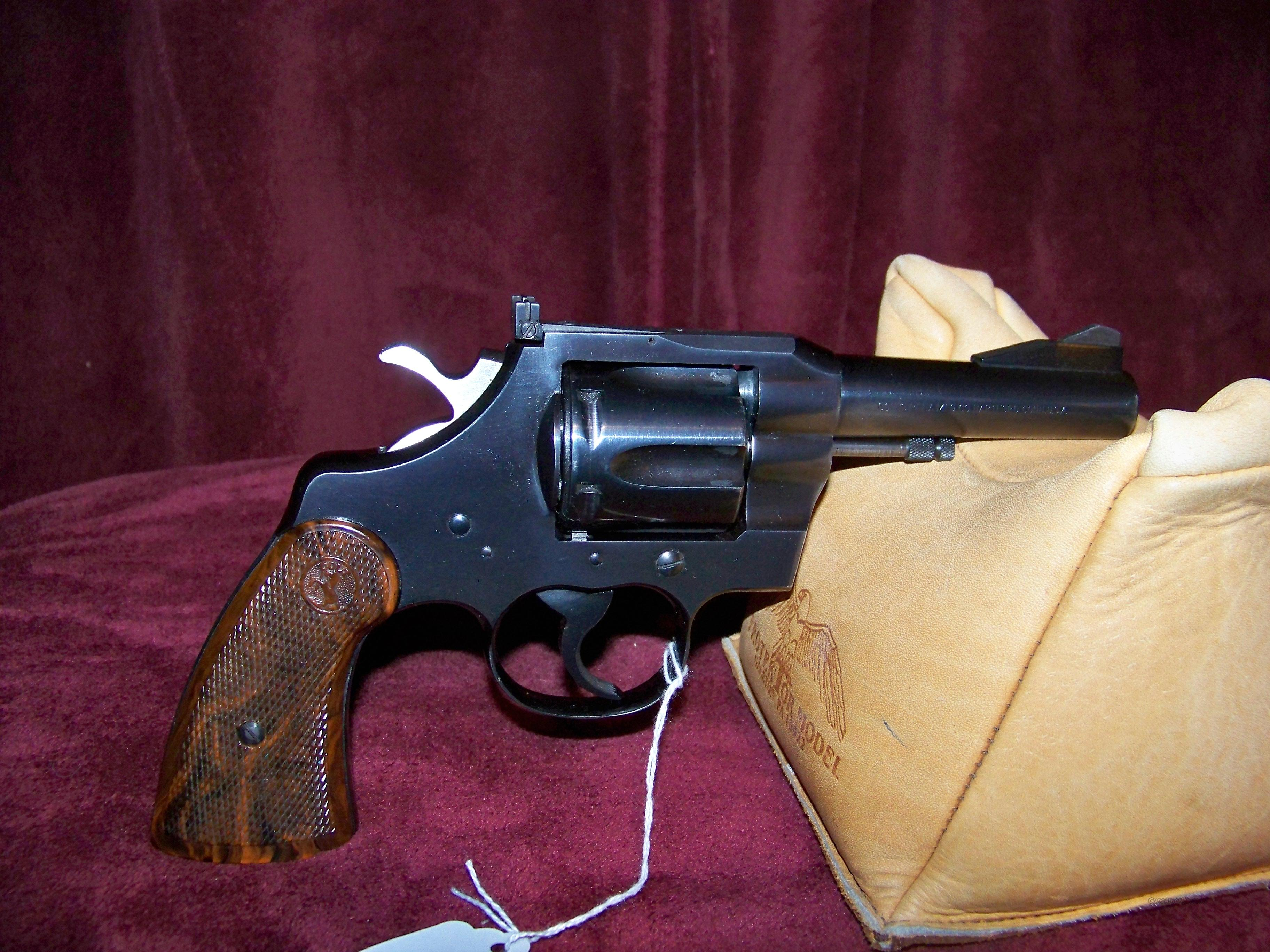 COLT TROOPER 22 LONG RIFLE CALIBER  Guns > Pistols > Colt Double Action Revolvers- Modern