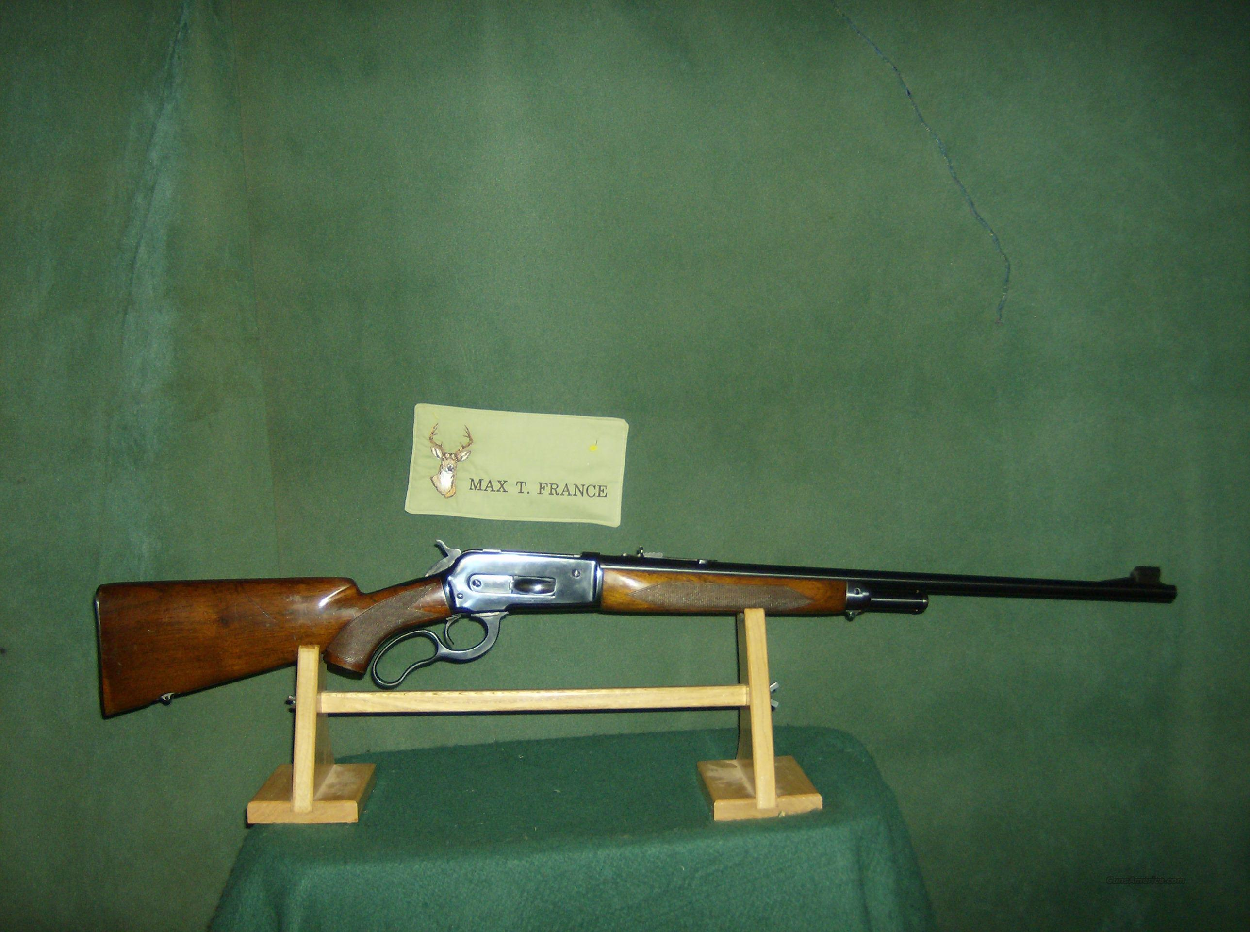 WINCHESTER MODEL 71 DELUXE 348 WCF  Guns > Rifles > Winchester Rifles - Modern Lever > Other Lever > Pre-64