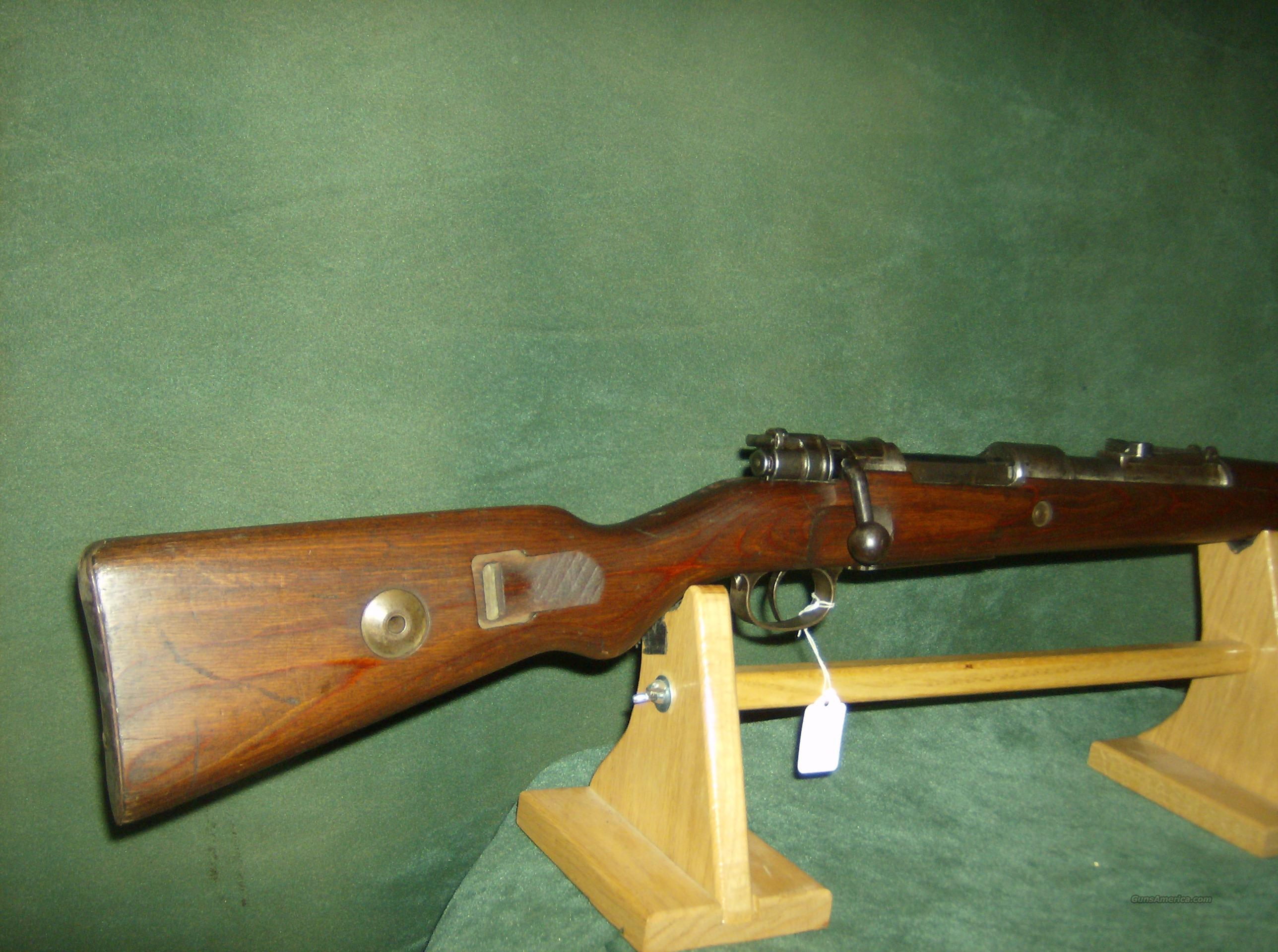 MAUSER 98 BNZ MARKED RECEIVER  Guns > Rifles > Military Misc. Rifles Non-US > Other