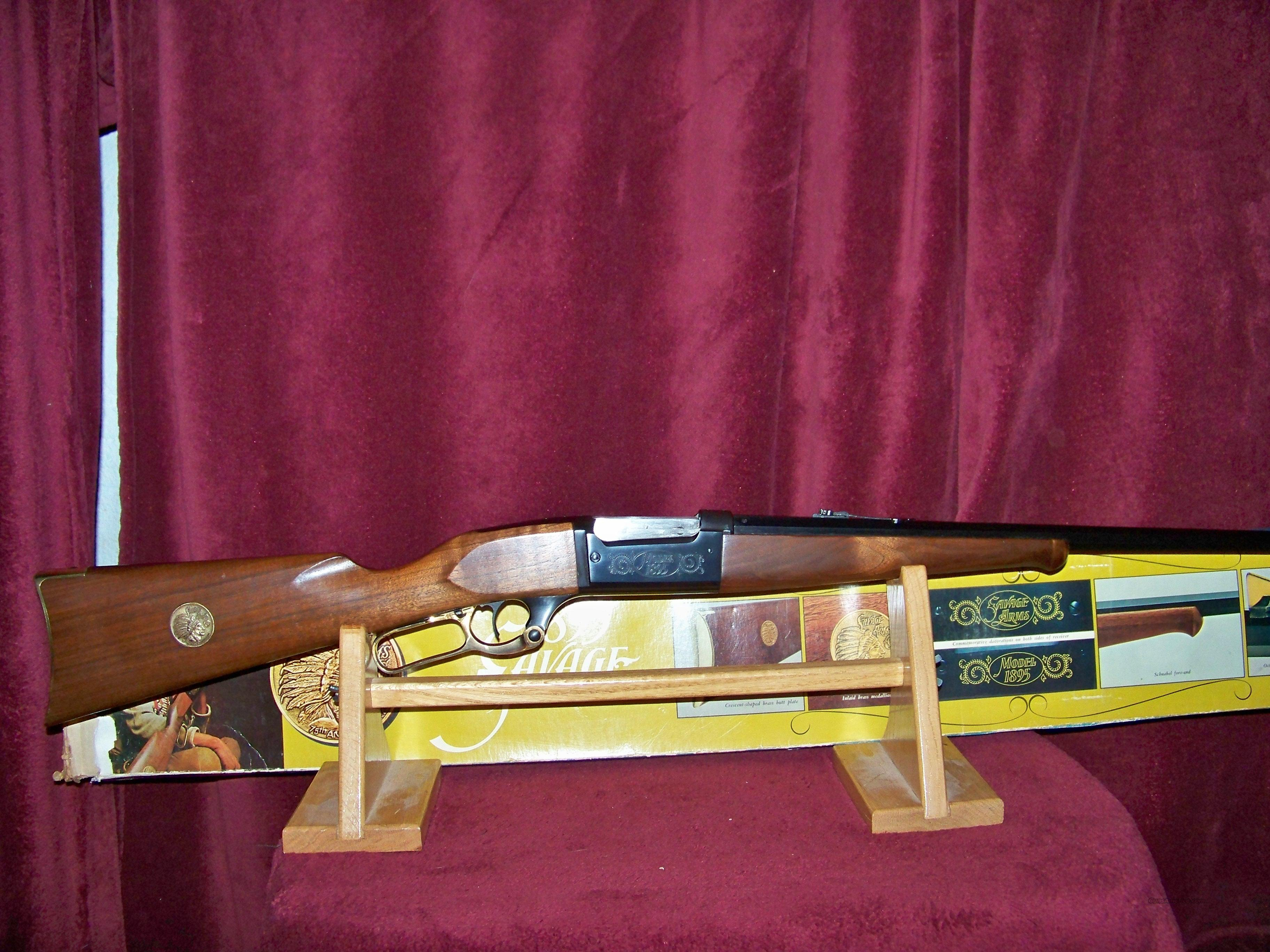 SAVAGE MODEL 1895 75TH ANNIVERSARY  Guns > Rifles > Savage Rifles > Model 95/99 Family