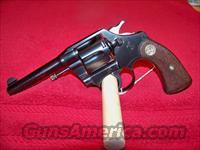 COLT POLICE POSITIVE SECOND MODEL   Colt Double Action Revolvers- Pre-1945