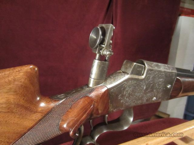 SCHUTZEN TARGET RIFLE  Guns > Rifles > Antique (Pre-1899) Rifles - Ctg. Misc.