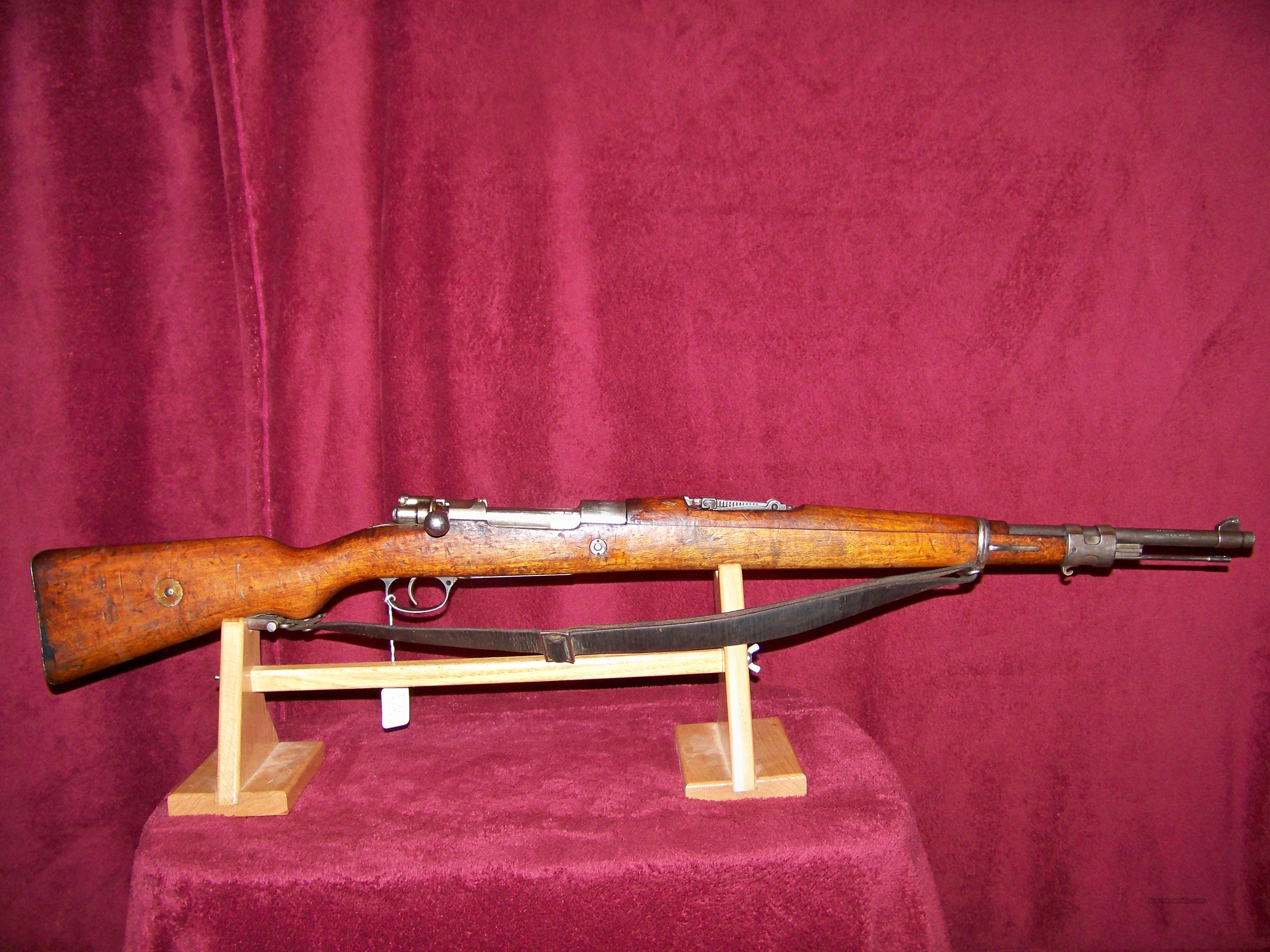 CHILEAN MODEL 1912 SHORT RIFLE  Guns > Rifles > Military Misc. Rifles Non-US > Other