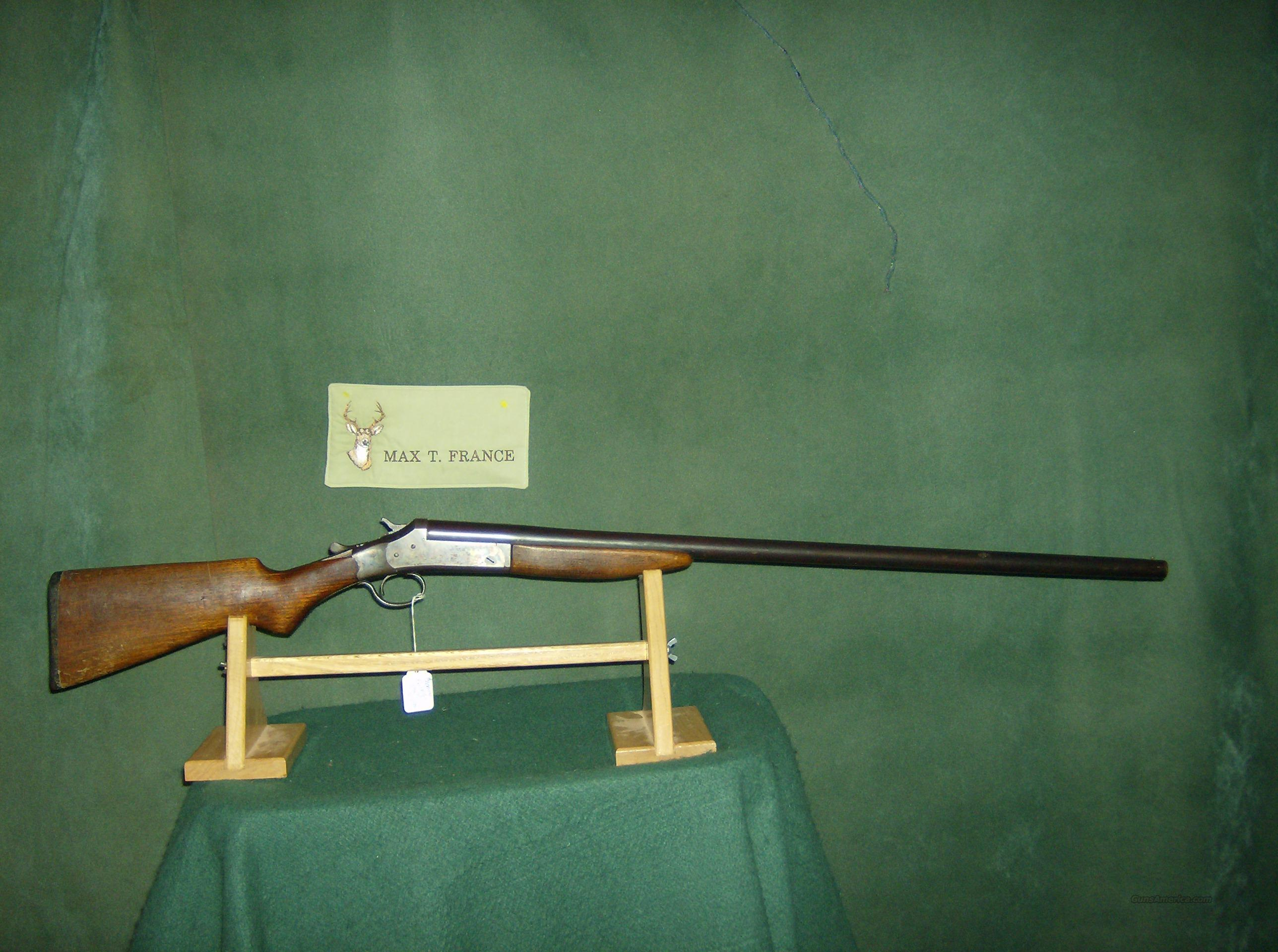 IVER JOHNSON SINGLE BARREL 12GA  Guns > Shotguns > Iver Johnson Shotguns