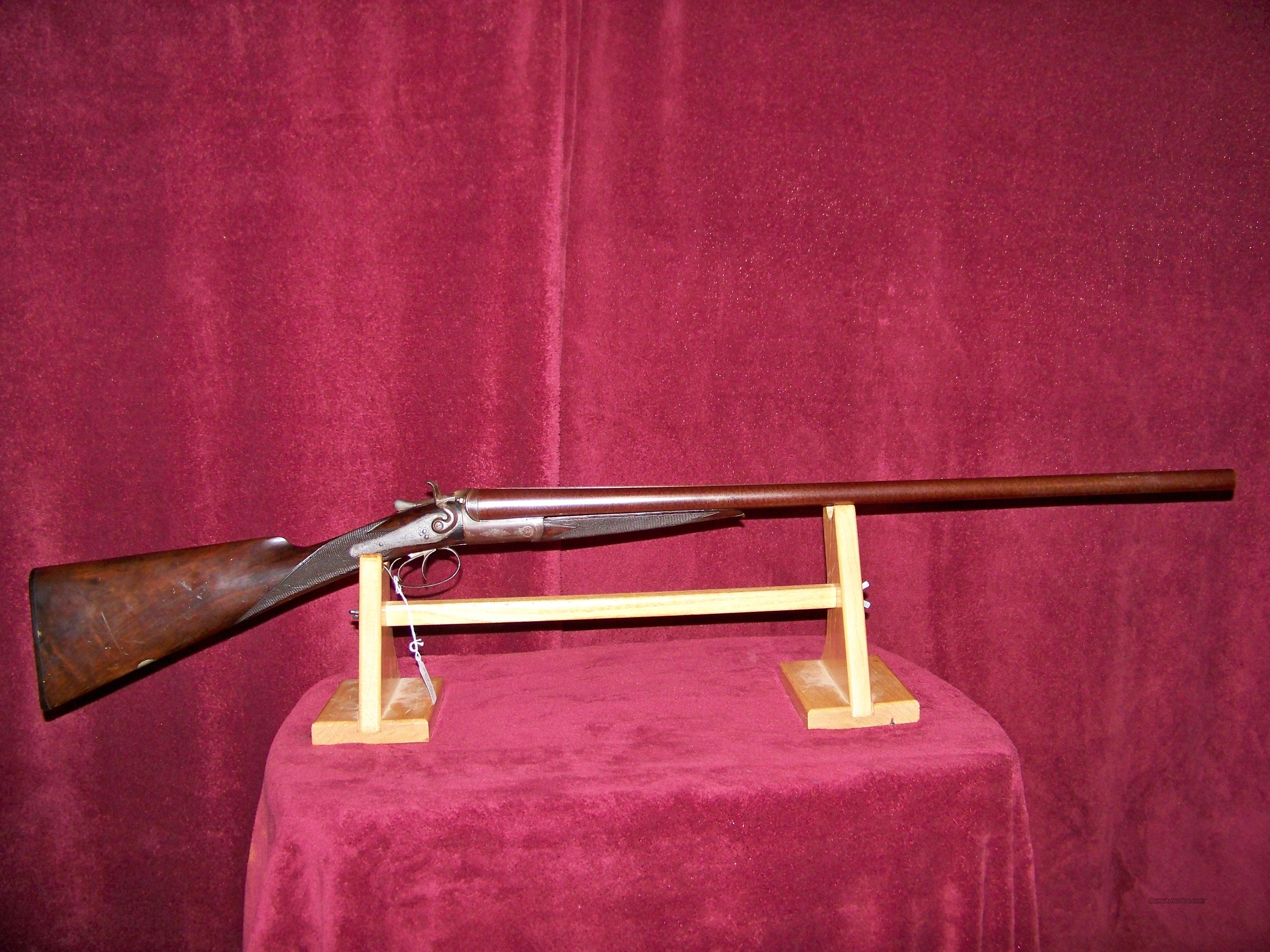 TRULOCK & HARRISS  DUBLIN  Guns > Shotguns > Antique (Pre-1899) Shotguns - Misc.