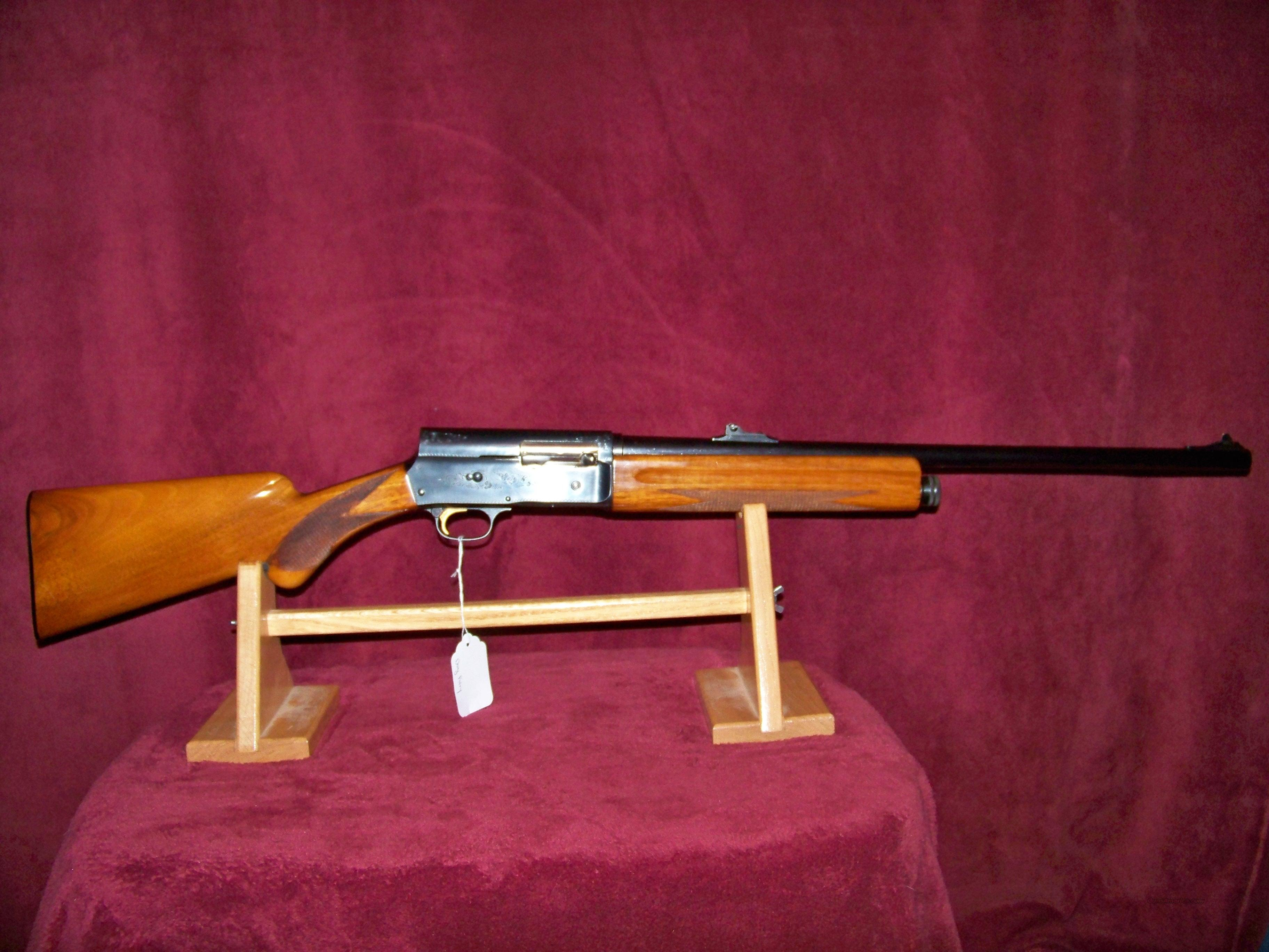 BROWNING SWEET 16 W/FACTORY SLUG BARREL  Guns > Shotguns > Browning Shotguns > Autoloaders > Hunting