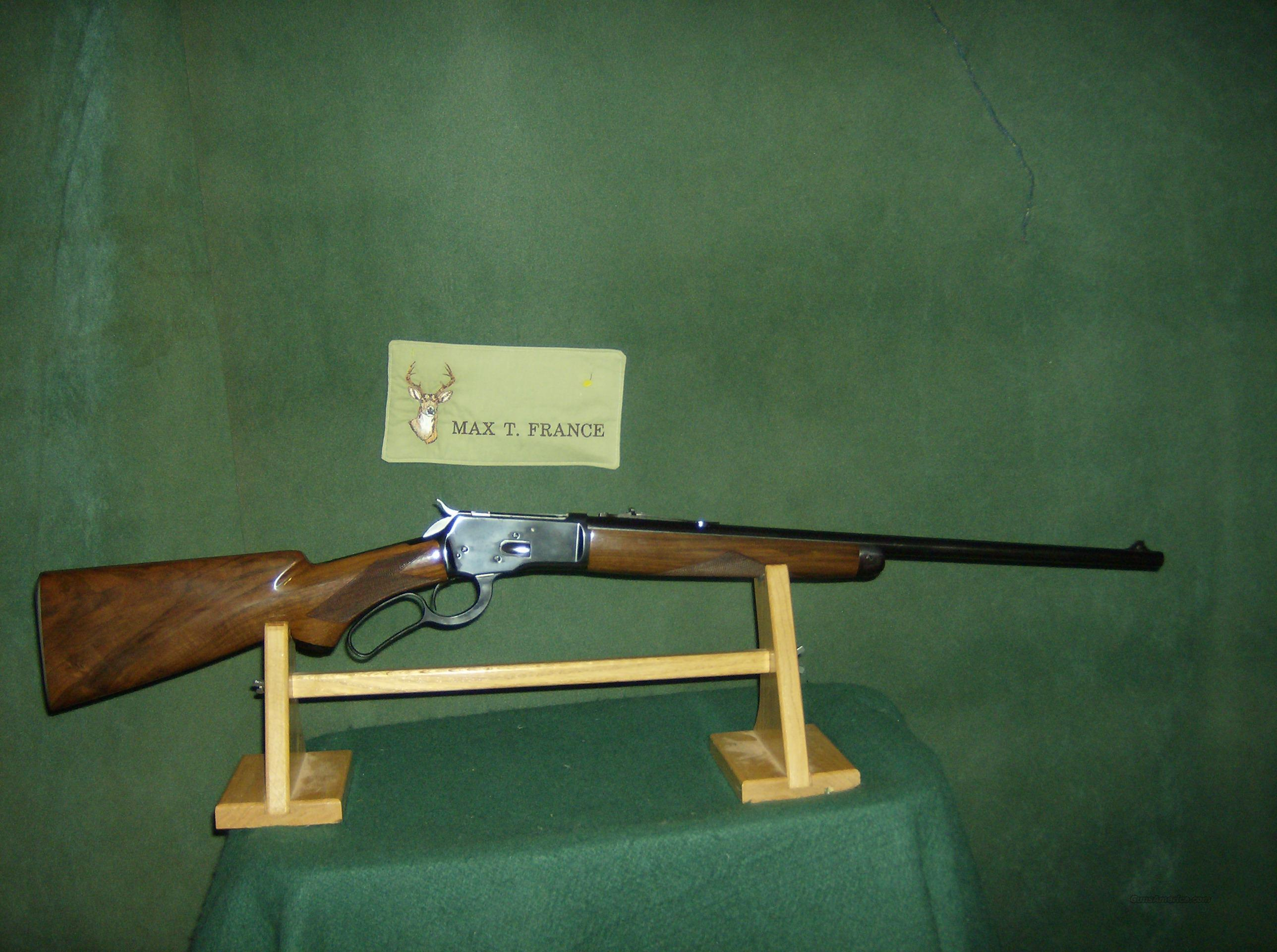 BROWNING MODEL 53 32-20 CALIBER  Guns > Rifles > Browning Rifles > Lever Action