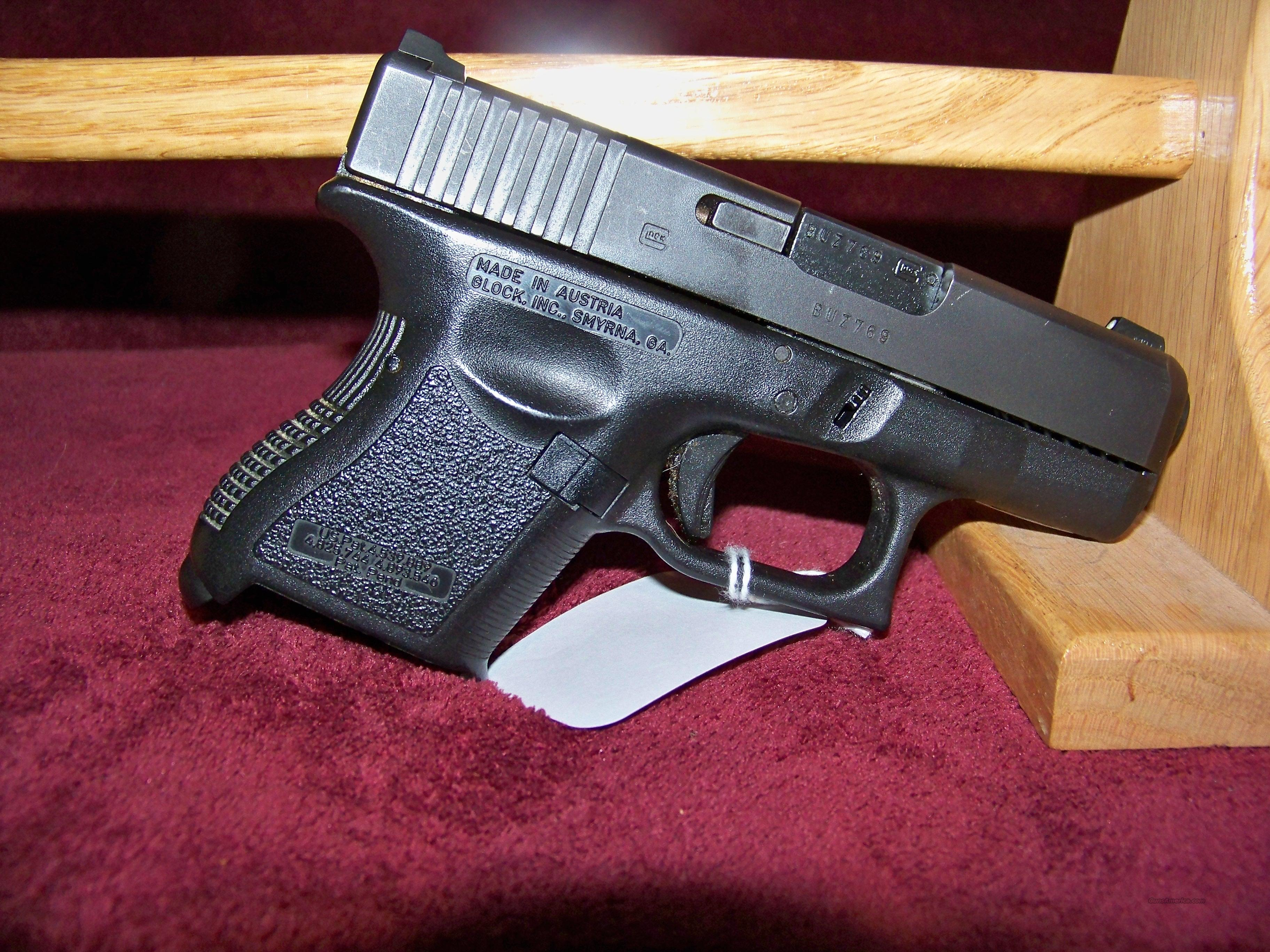 GLOCK MODEL 26 9MM   Guns > Pistols > Glock Pistols > 26/27