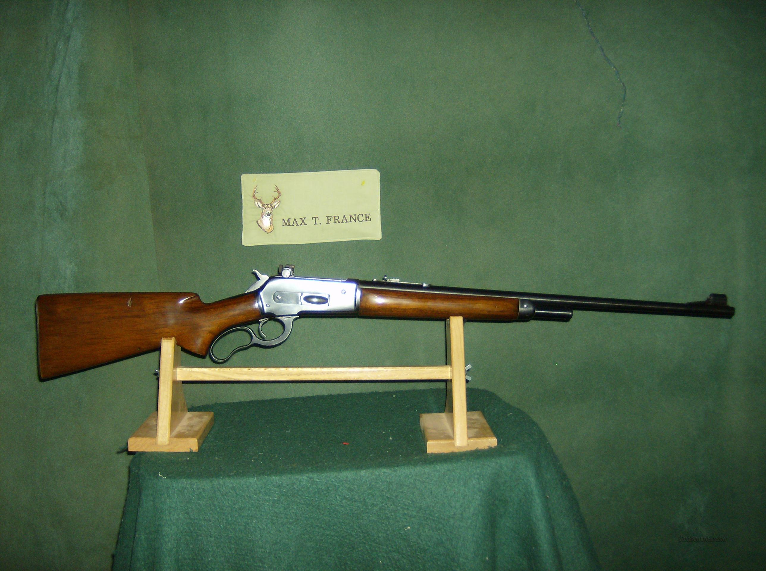 WINCHESTER MODEL 71 348 WIN CALIBER  Guns > Rifles > Winchester Rifles - Modern Lever > Other Lever > Pre-64