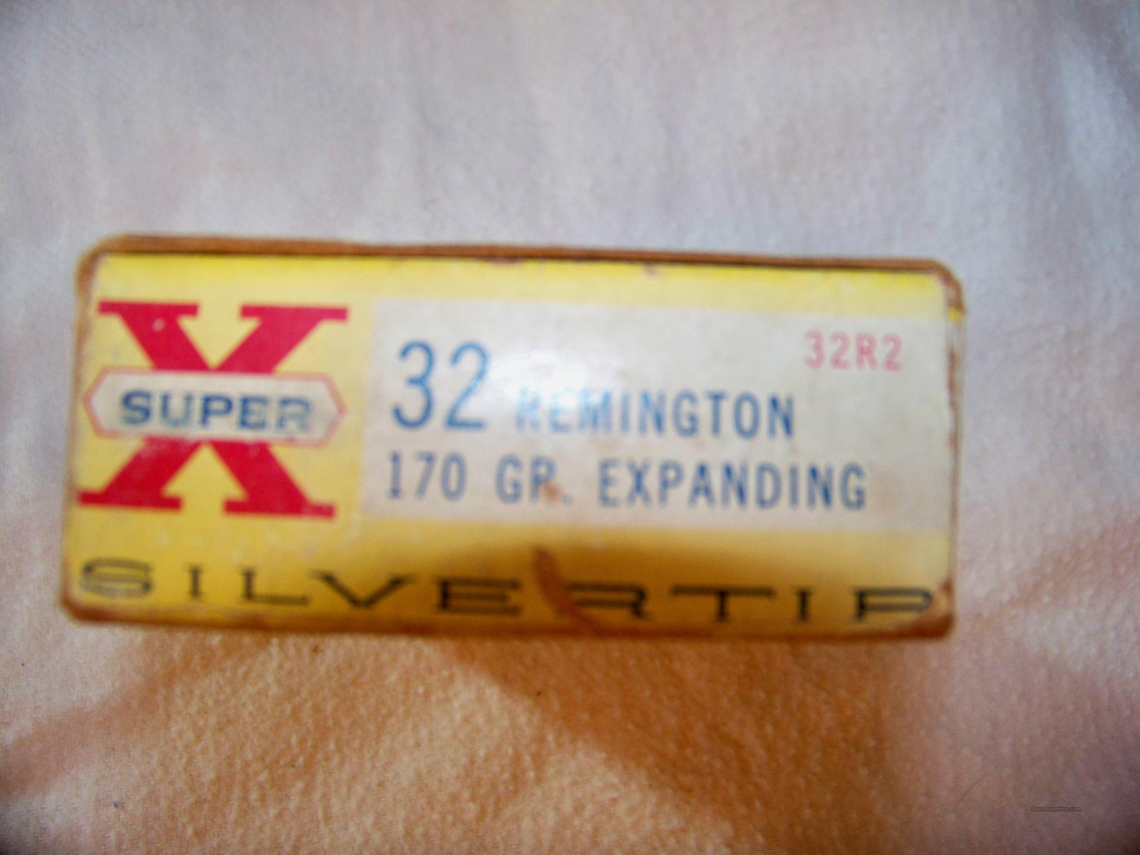 WESTERN SUPER X 32 REMINGTON  Non-Guns > Ammunition