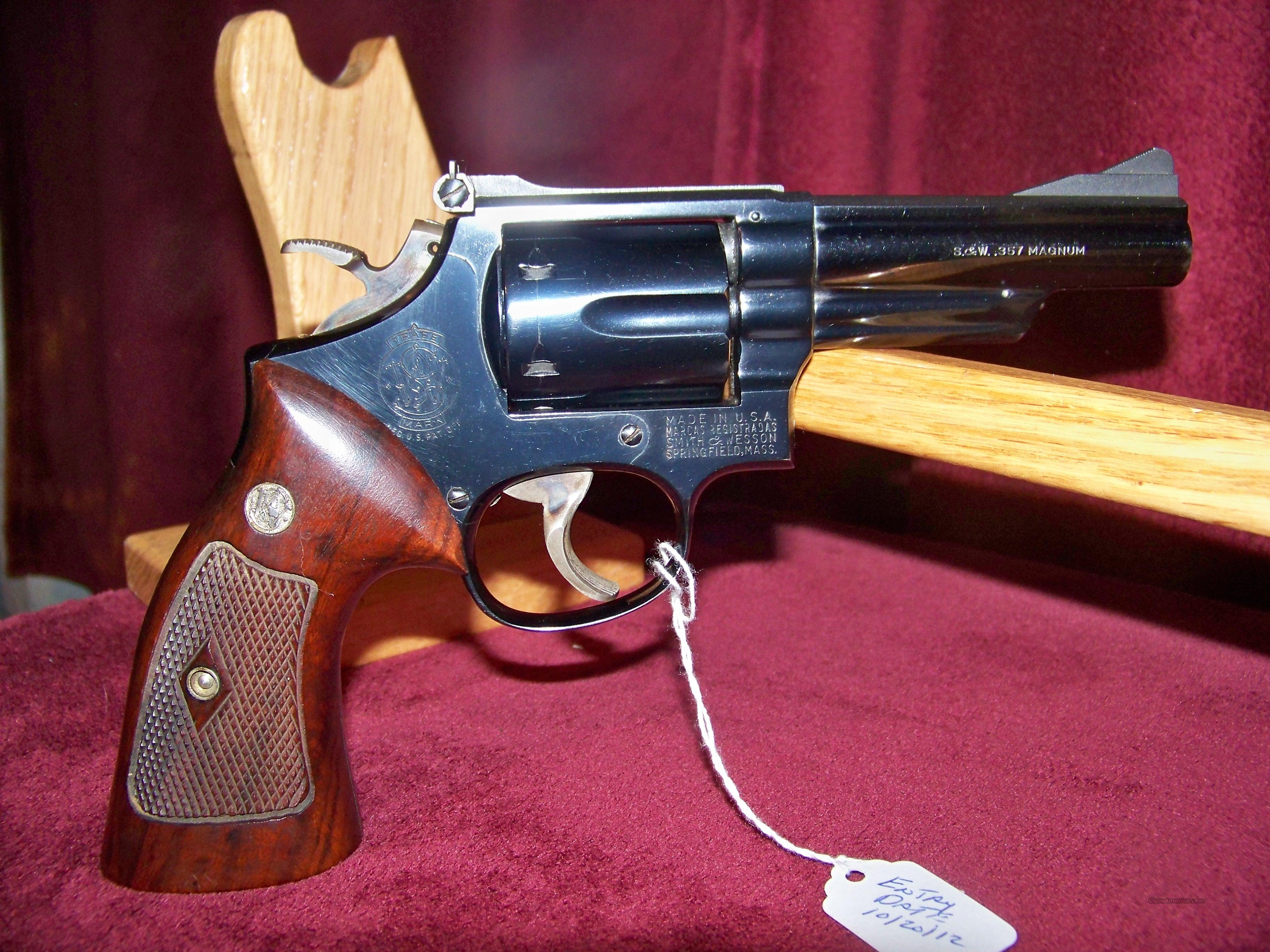 SMITH & WESSON MODEL 19-2  Guns > Pistols > Smith & Wesson Revolvers > Full Frame Revolver