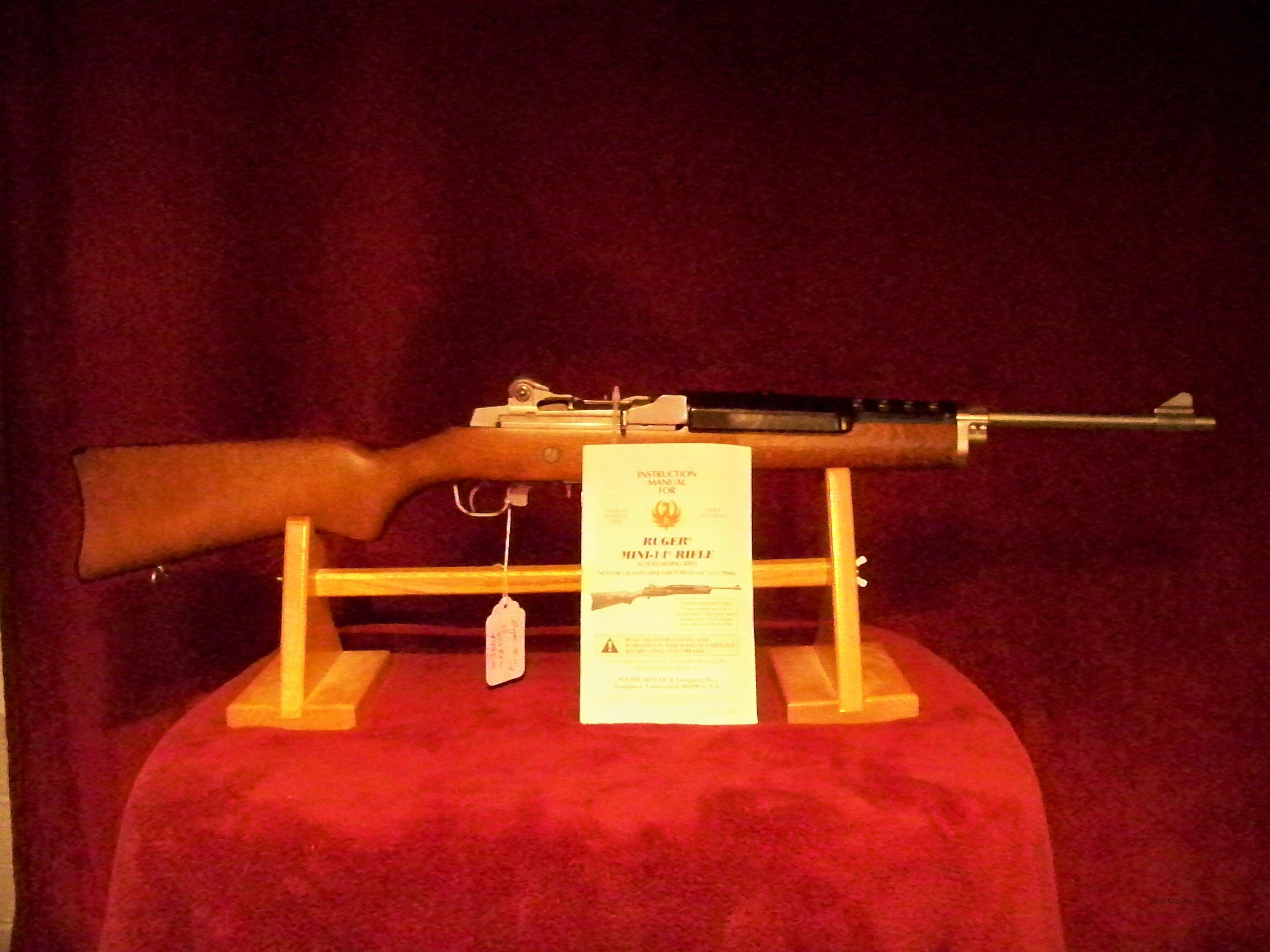 RUGER MINI14 S.S ((SERIES 184))  Guns > Rifles > Ruger Rifles > Mini-14 Type
