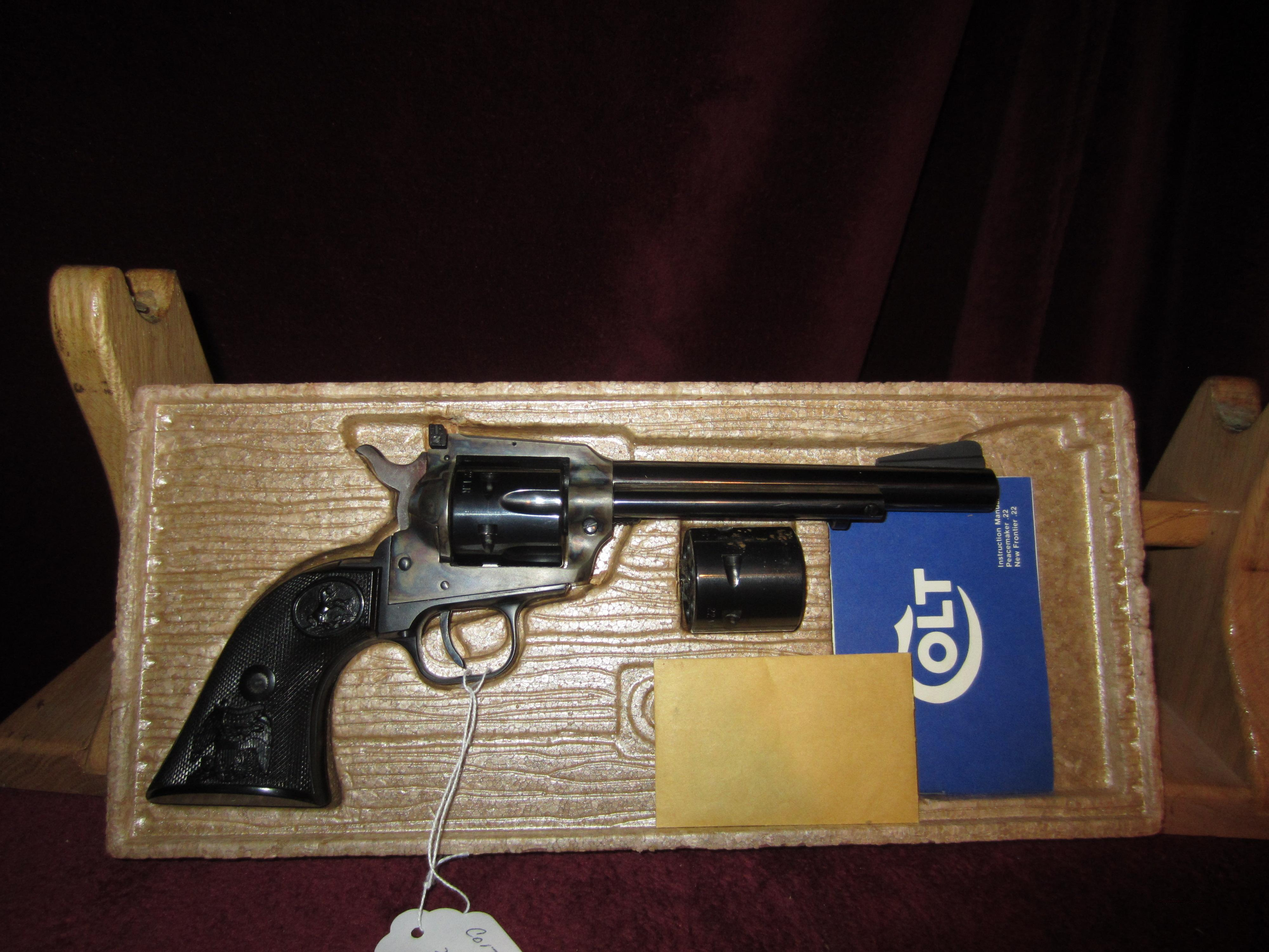 COLT NEW FRONTIER DUAL CYLINDER  Guns > Pistols > Colt Single Action Revolvers - Modern (22 Cal.)