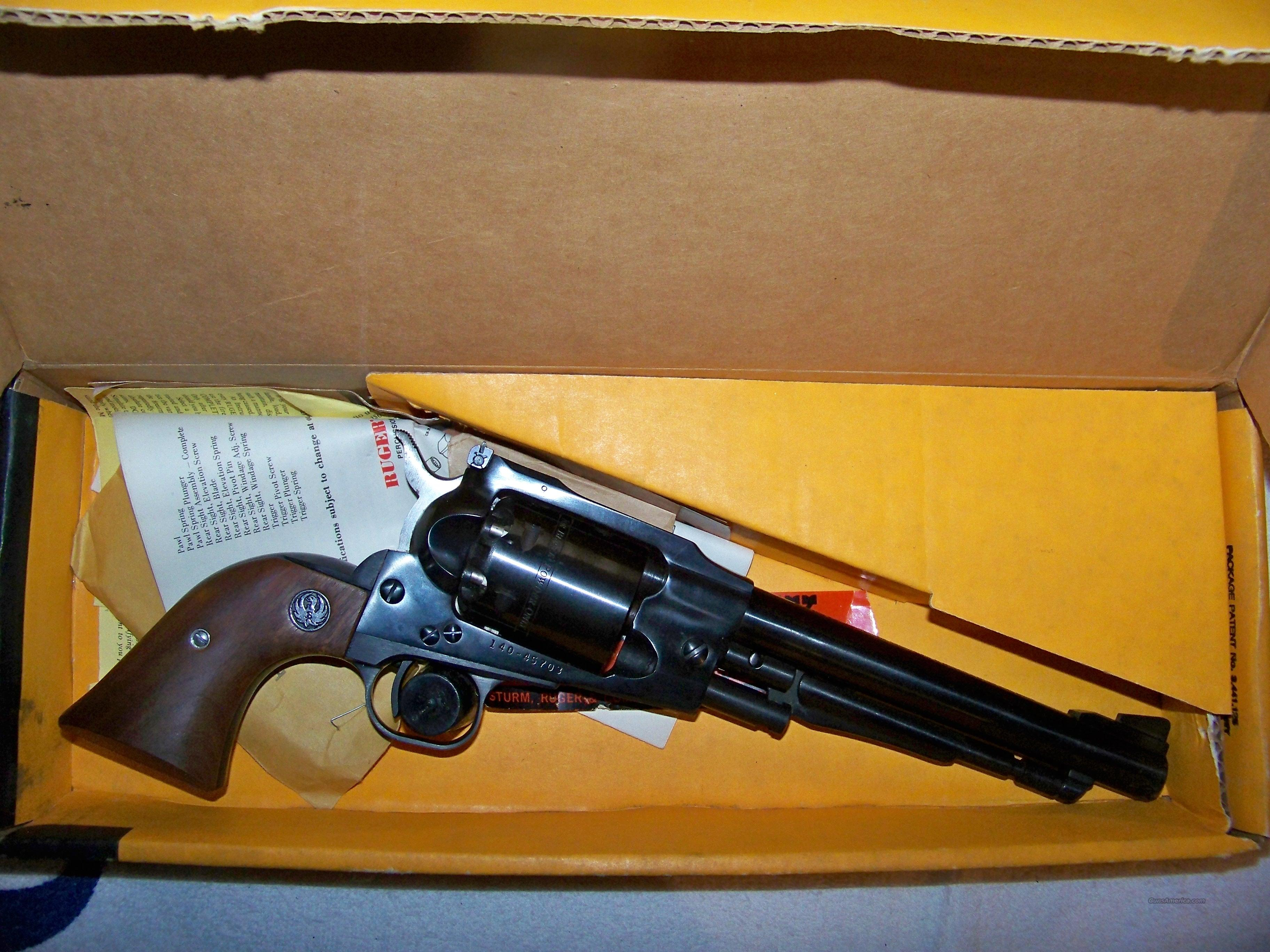 RUGER OLD ARMY NIB  Guns > Pistols > Ruger Cap & Ball Revolvers